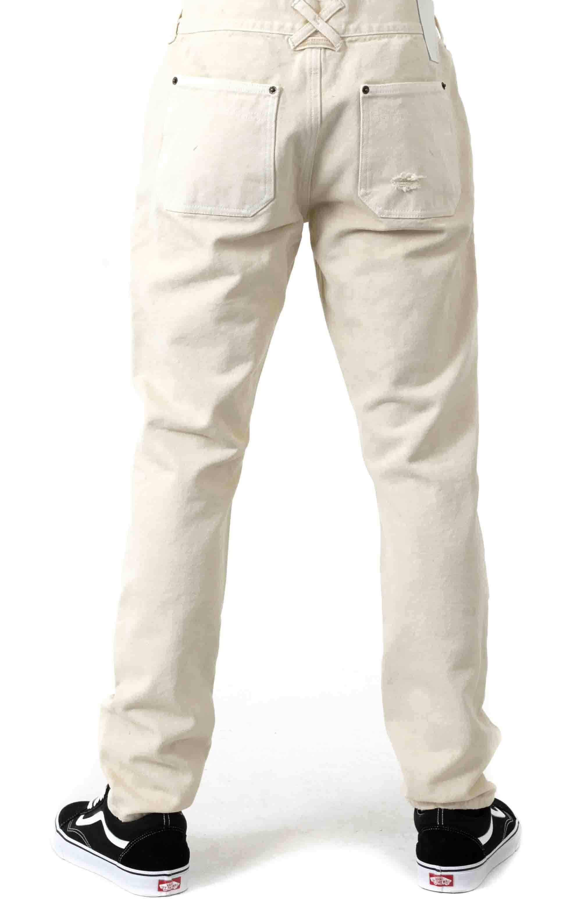 Reinforced Carpenter Pants - Off White  3