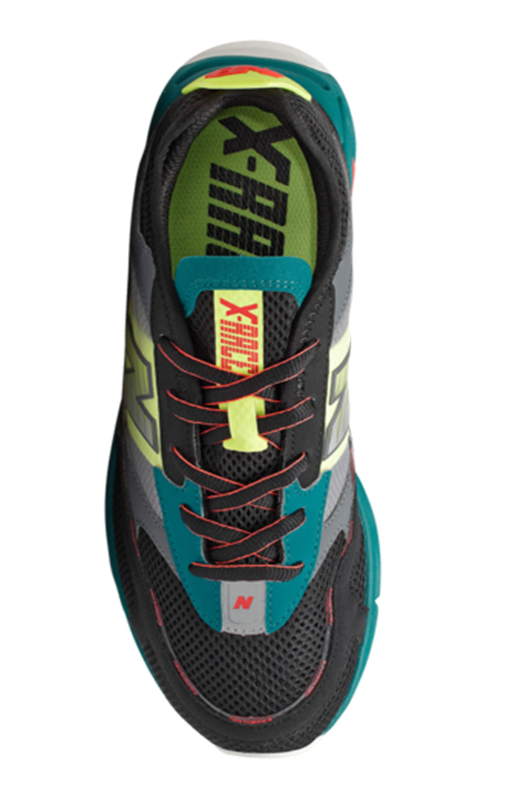 (MSXRCHNP) X-Racer Shoes - Teal/Black/Yellow 3