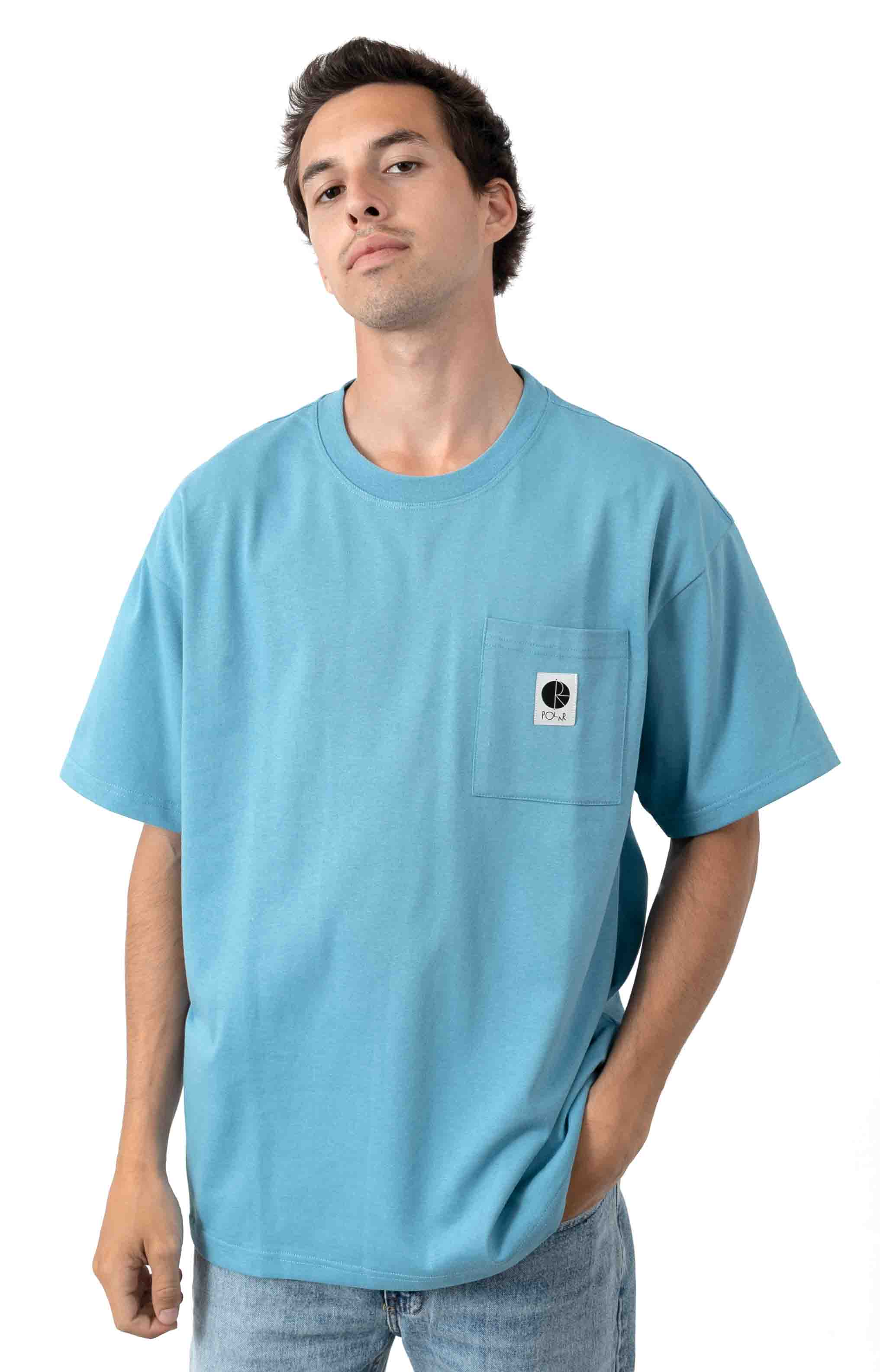 Pocket T-Shirt - Blue