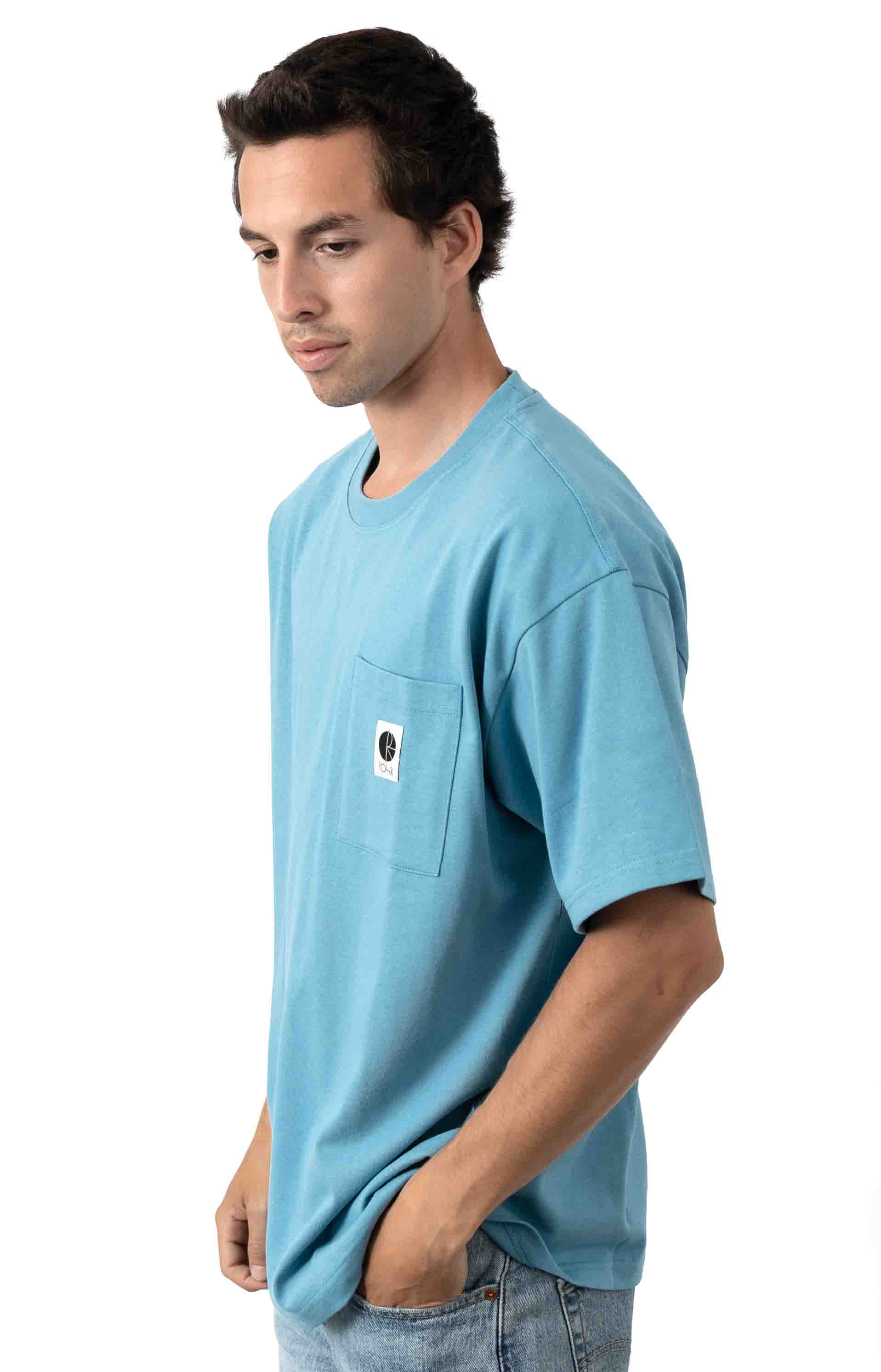 Pocket T-Shirt - Blue 2