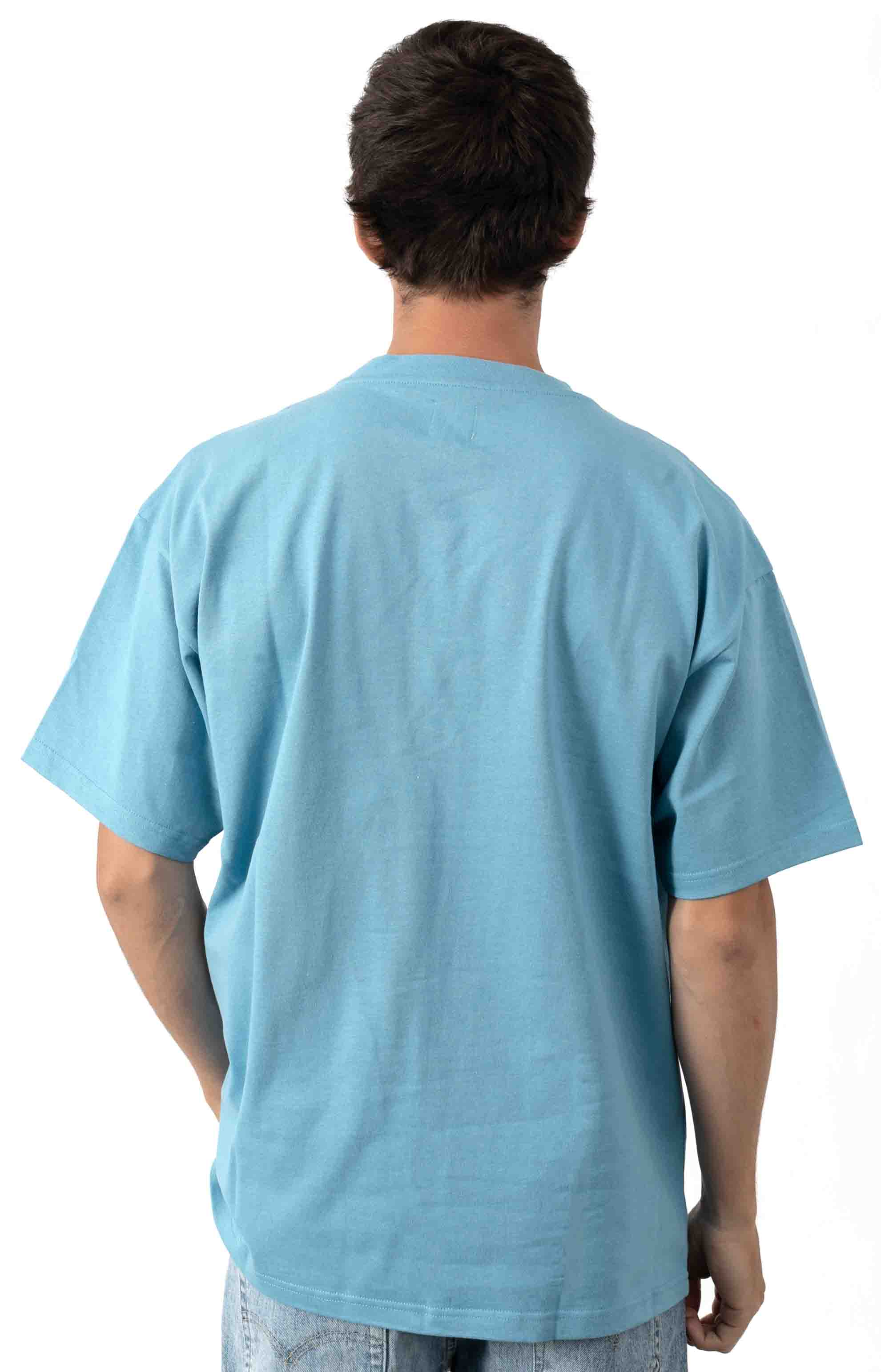 Pocket T-Shirt - Blue 3