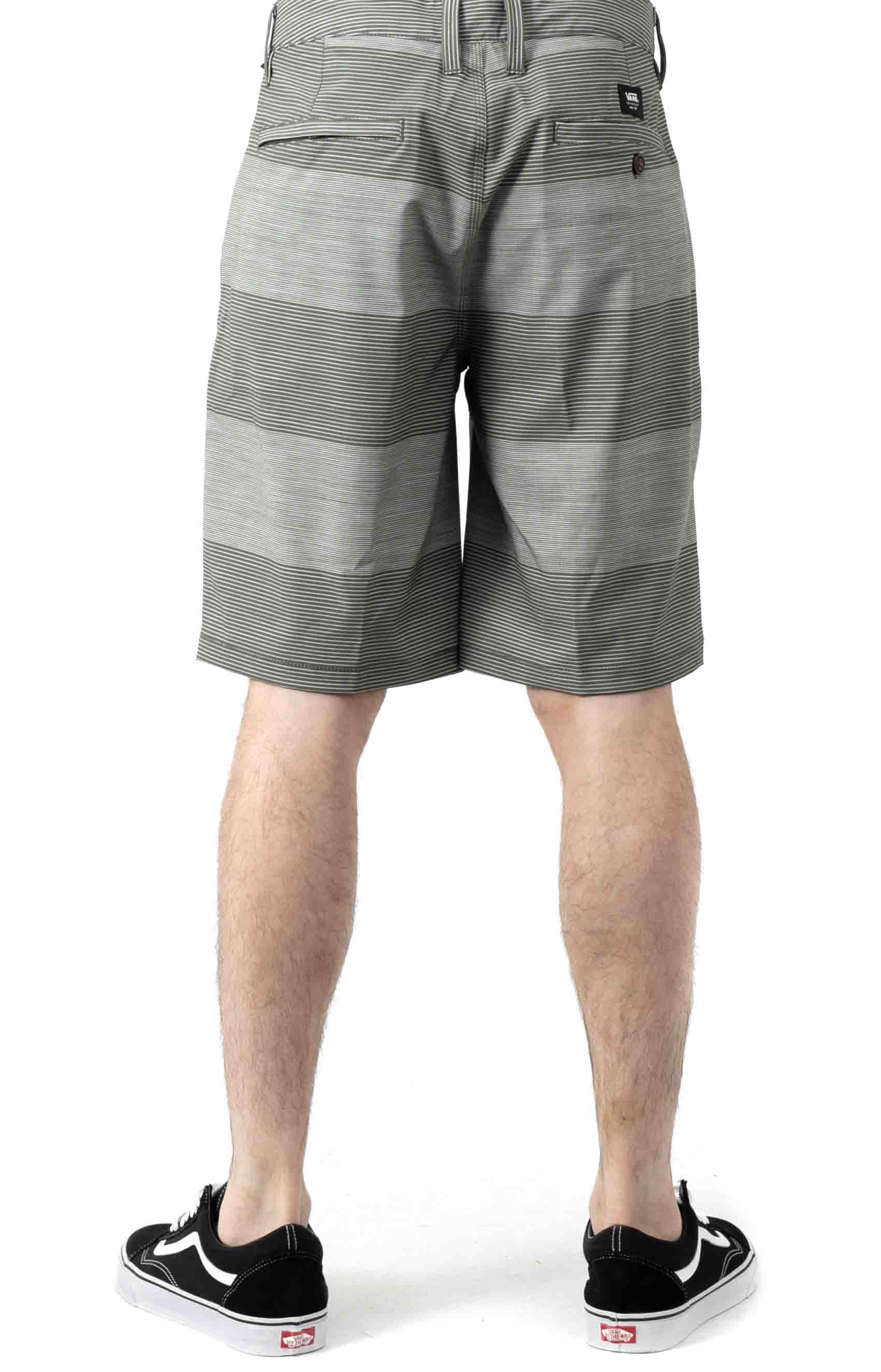 Authentic Stripe Short - Grape Leaf  3