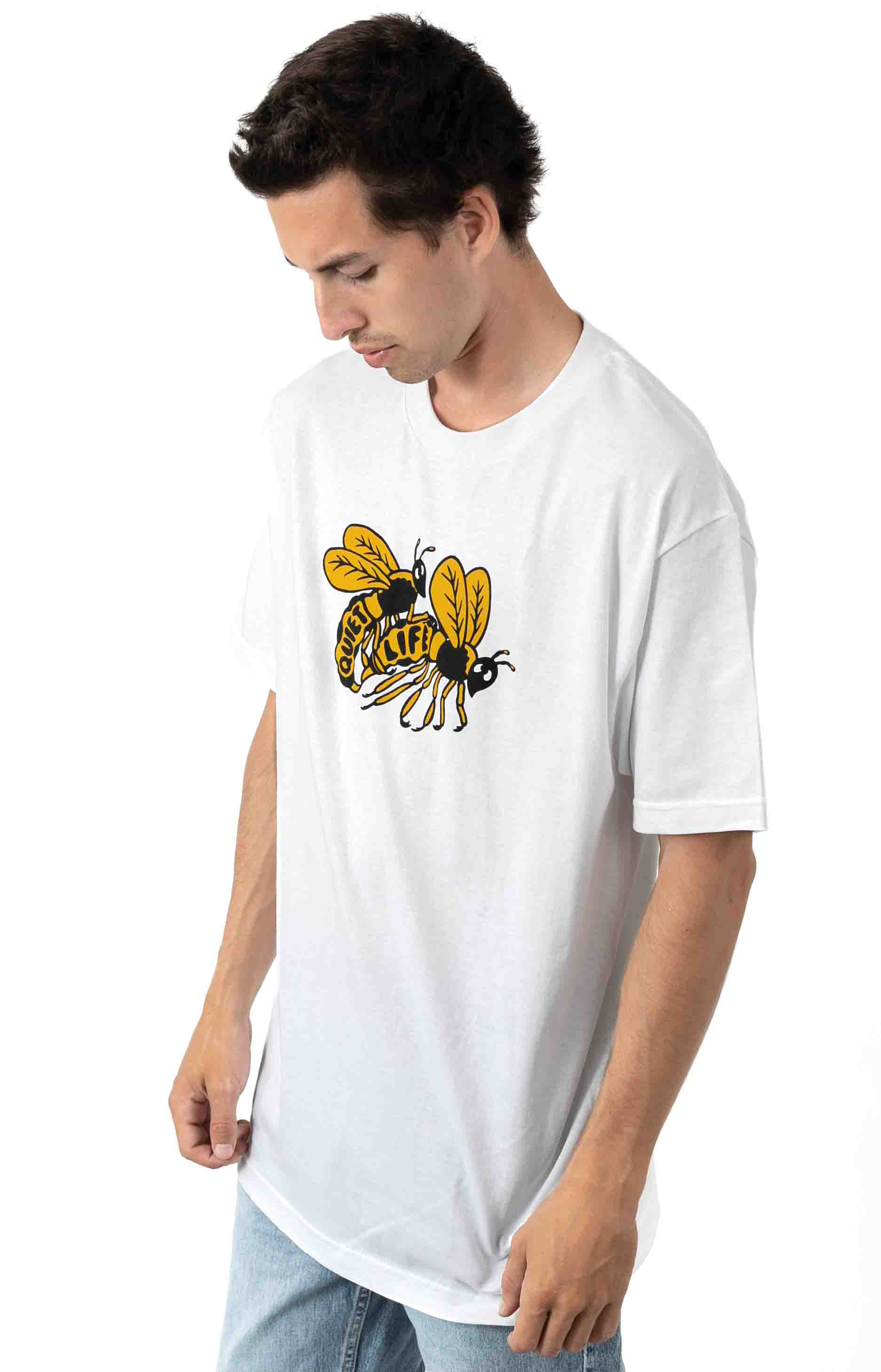 Bees T-Shirt - White  2