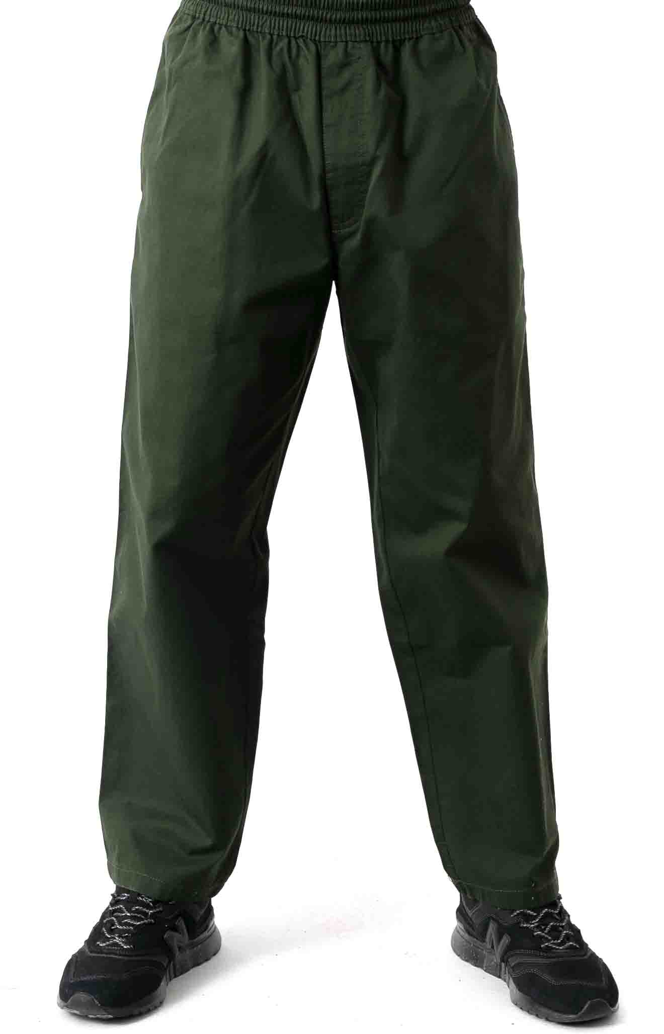 Surf Pants - Dark Olive  2
