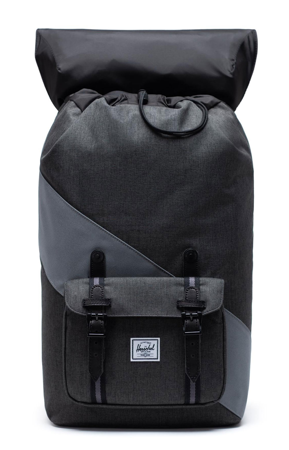 Little America Backpack - Black X/Quiet Shade/Periscope  2