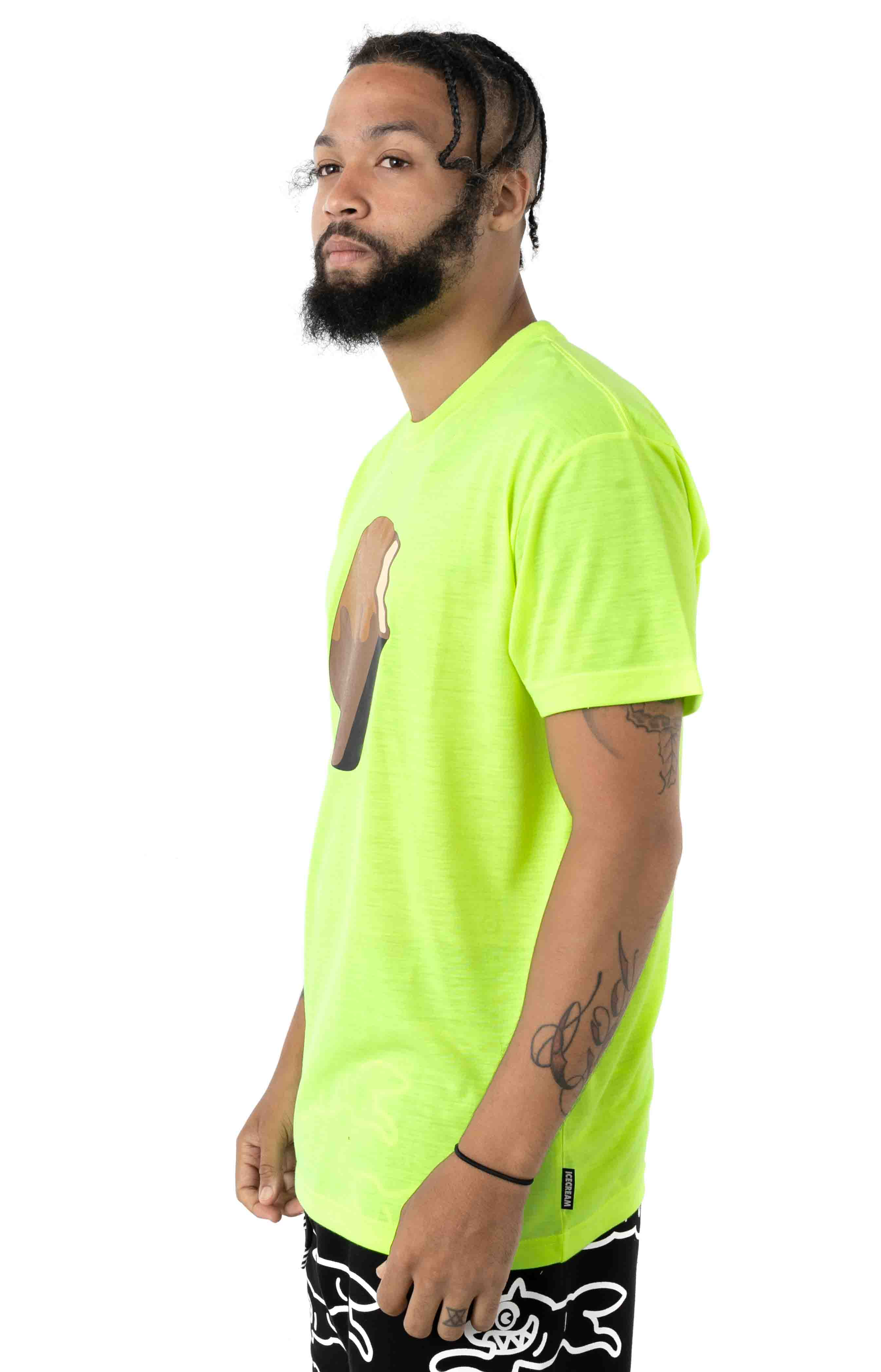Bite T-Shirt - Neon Yellow 2