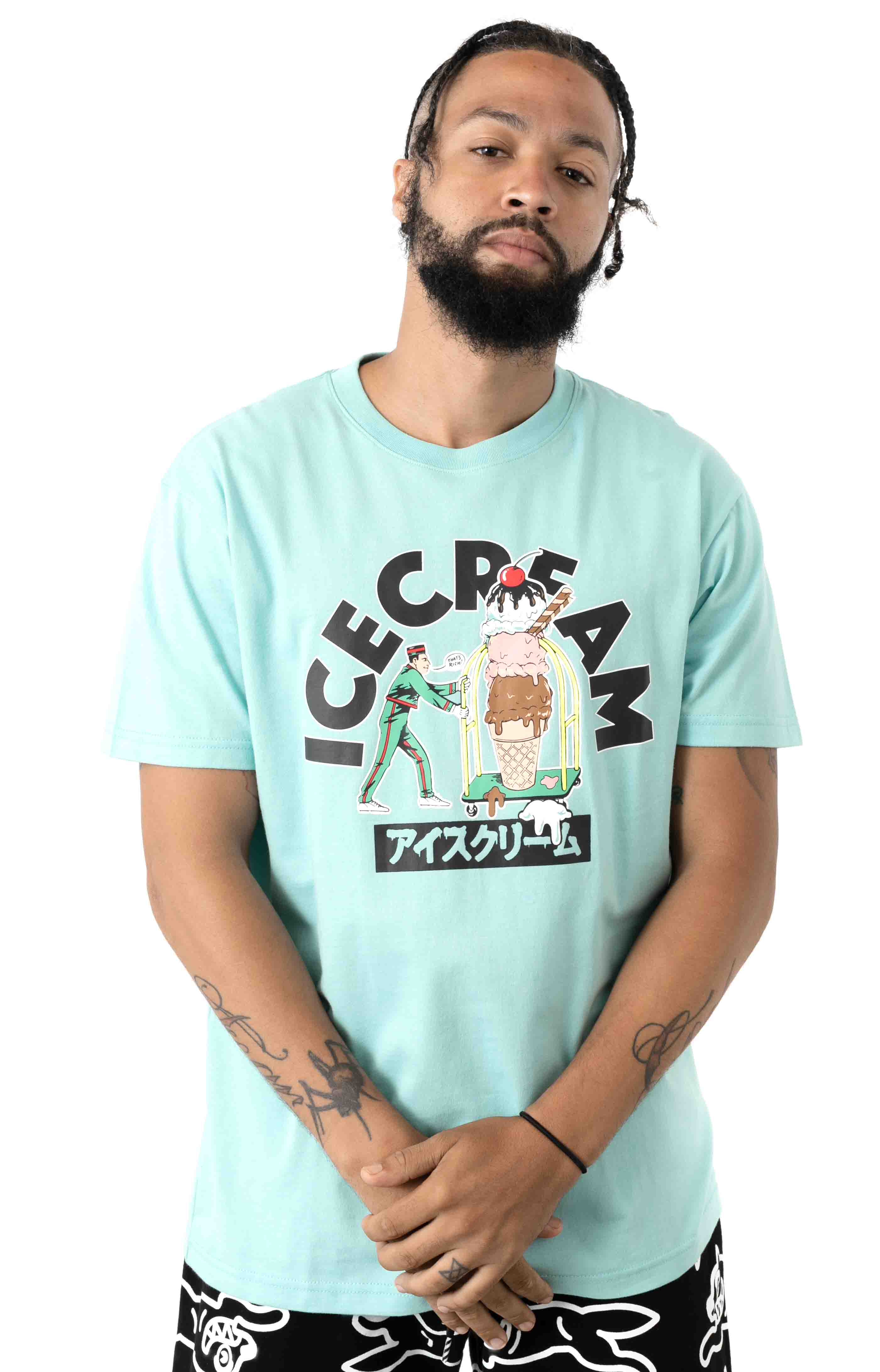 That's Rich T-Shirt - Pastel Turquoise