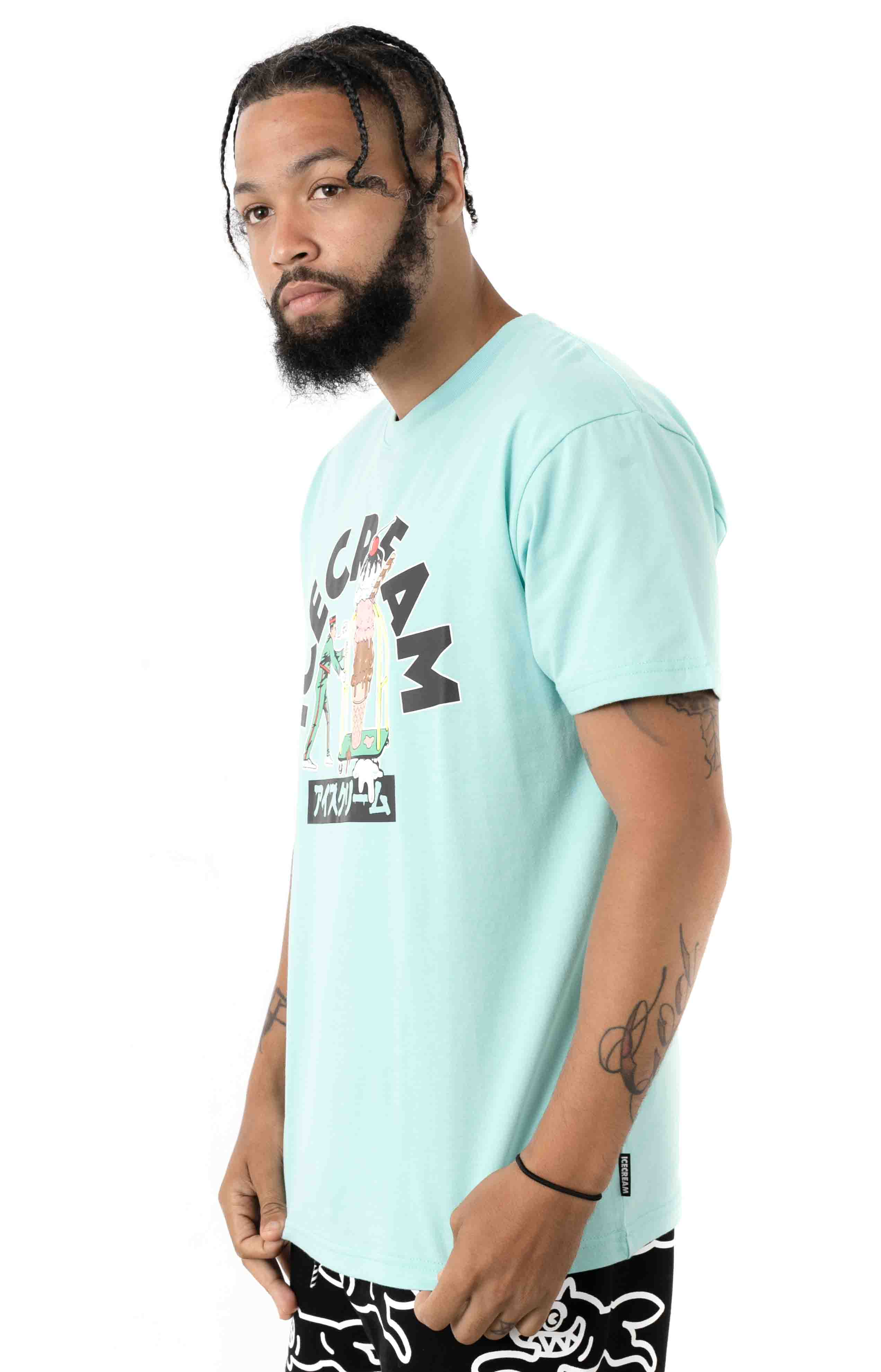 That's Rich T-Shirt - Pastel Turquoise  2
