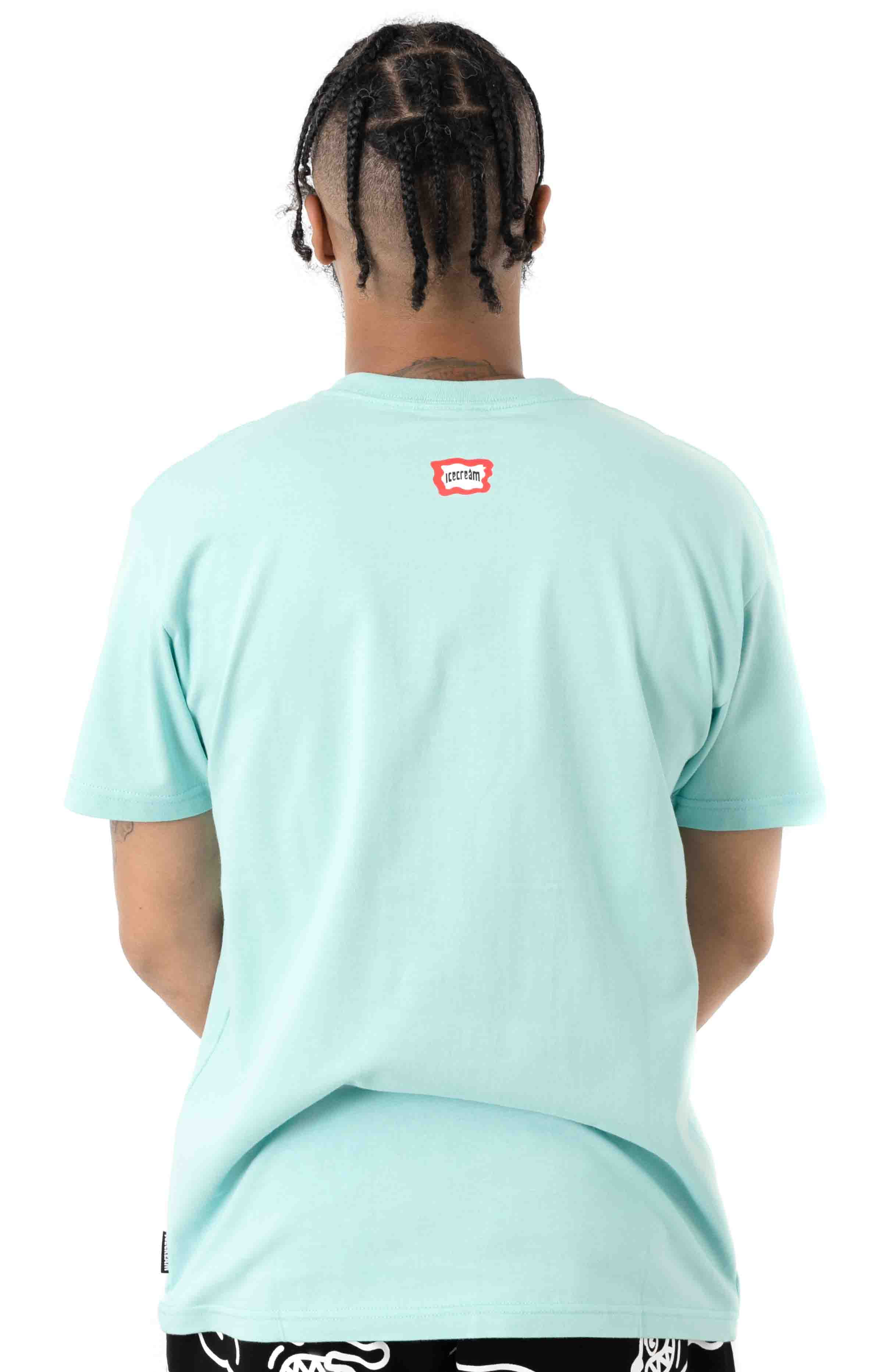 That's Rich T-Shirt - Pastel Turquoise  3