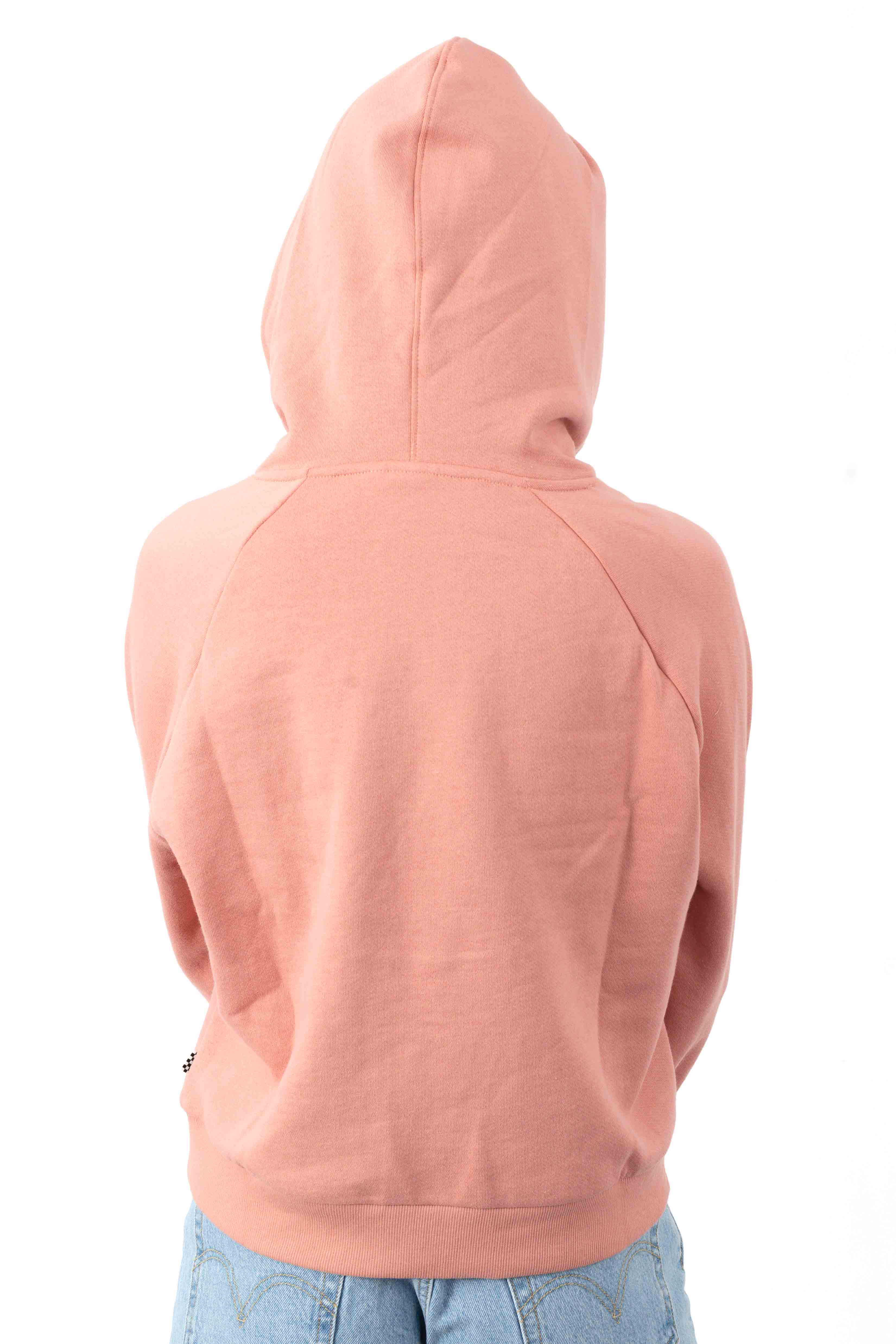 Flying V Boxy Pullover Hoodie - Rose Dawn 3