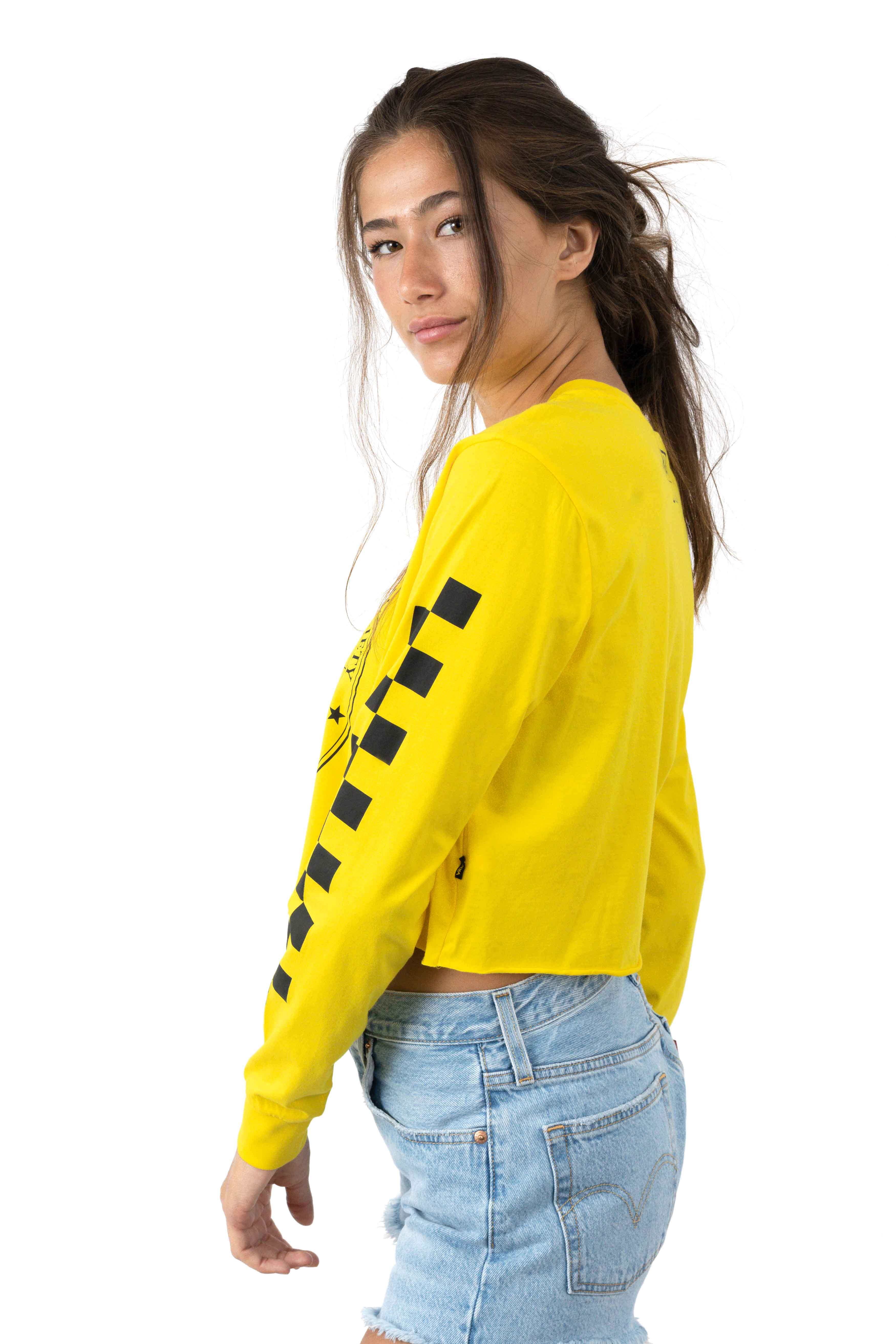 Nat Geo L/S Tee - Yellow 2