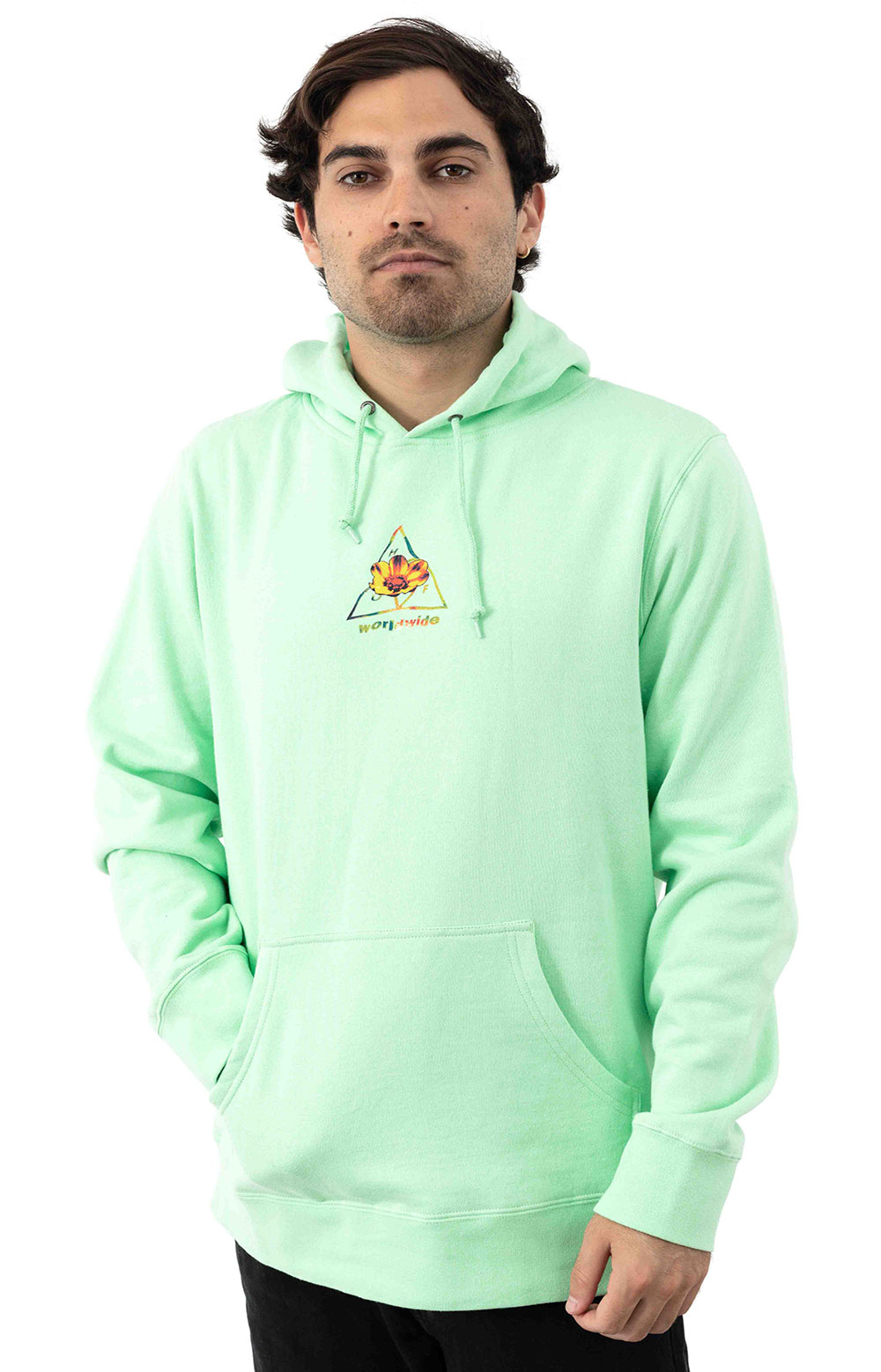 Come Down TT Pullover Hoodie - Neo Mint