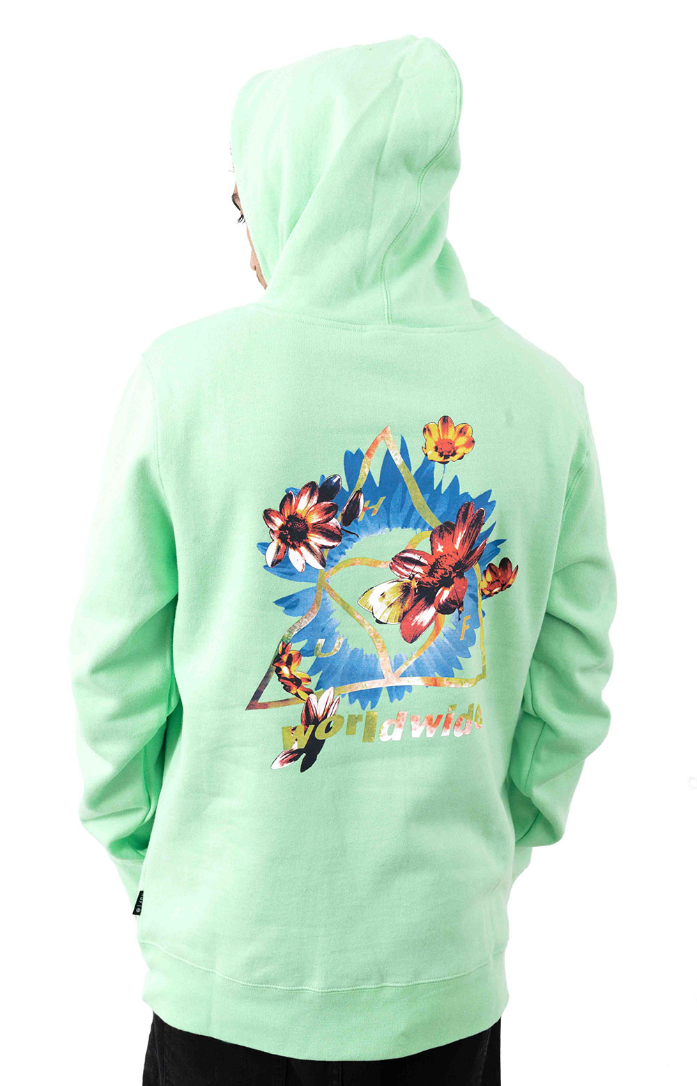 Come Down TT Pullover Hoodie - Neo Mint 3