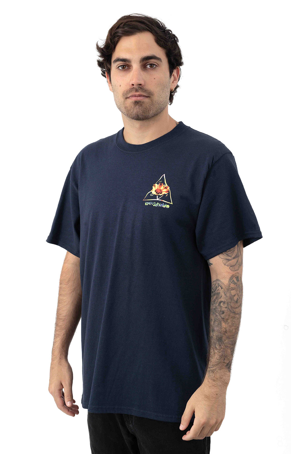 Come Down TT T-Shirt - French Navy 2
