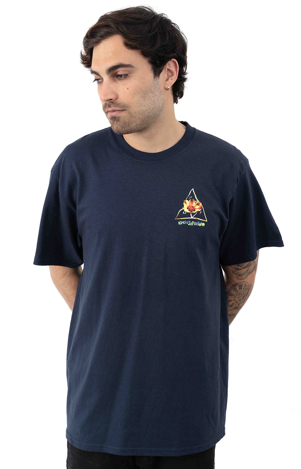 Come Down TT T-Shirt - French Navy 3