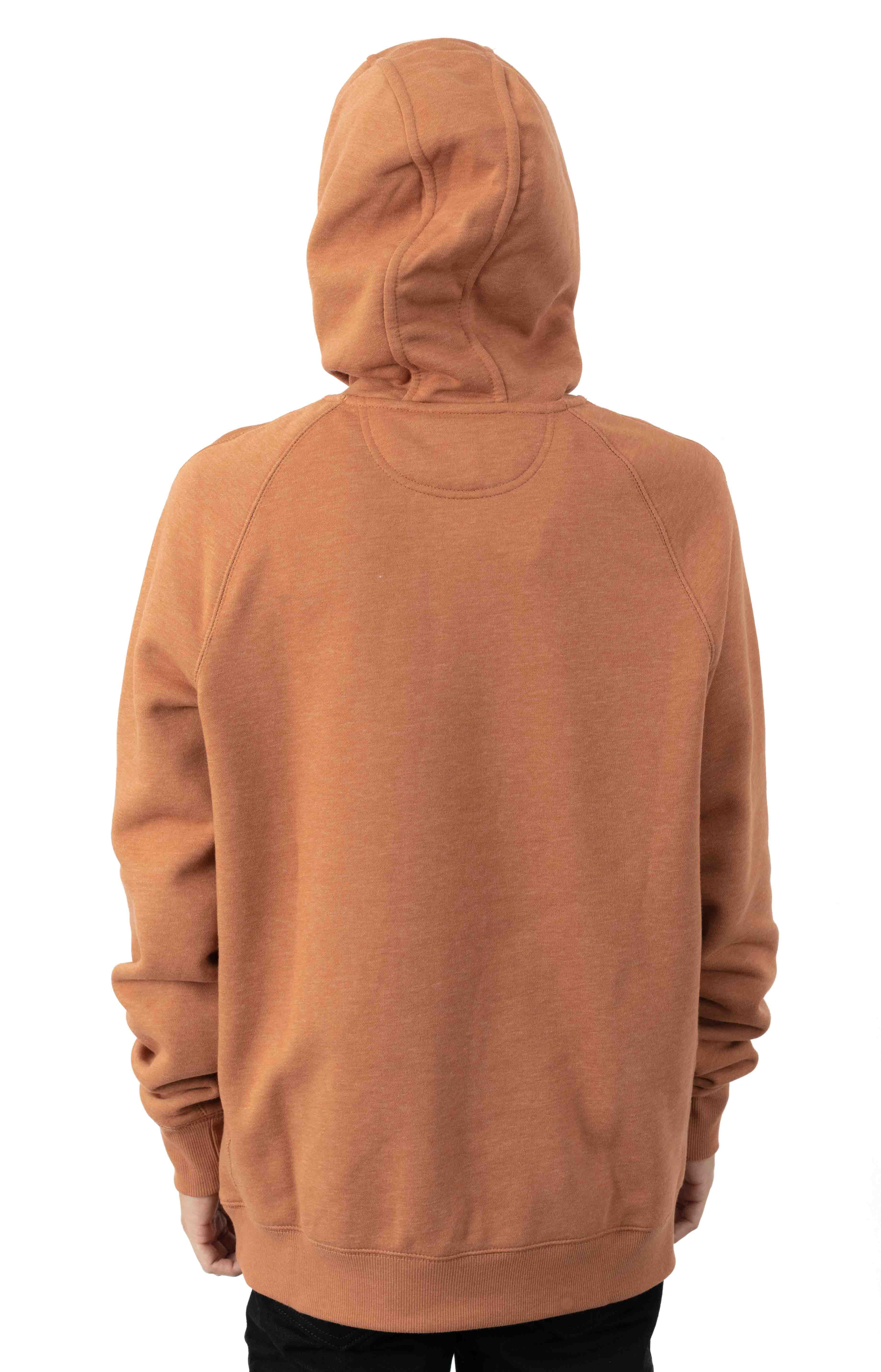 (103873) Force Delmont Signature Graphic Pullover Hoodie - Copper Heather  3