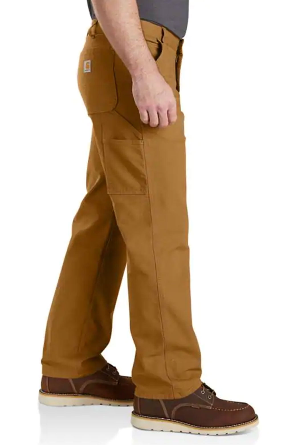 (103279) Rugged Flex Relaxed Fit Duck Dungaree - Carhartt Brown   3