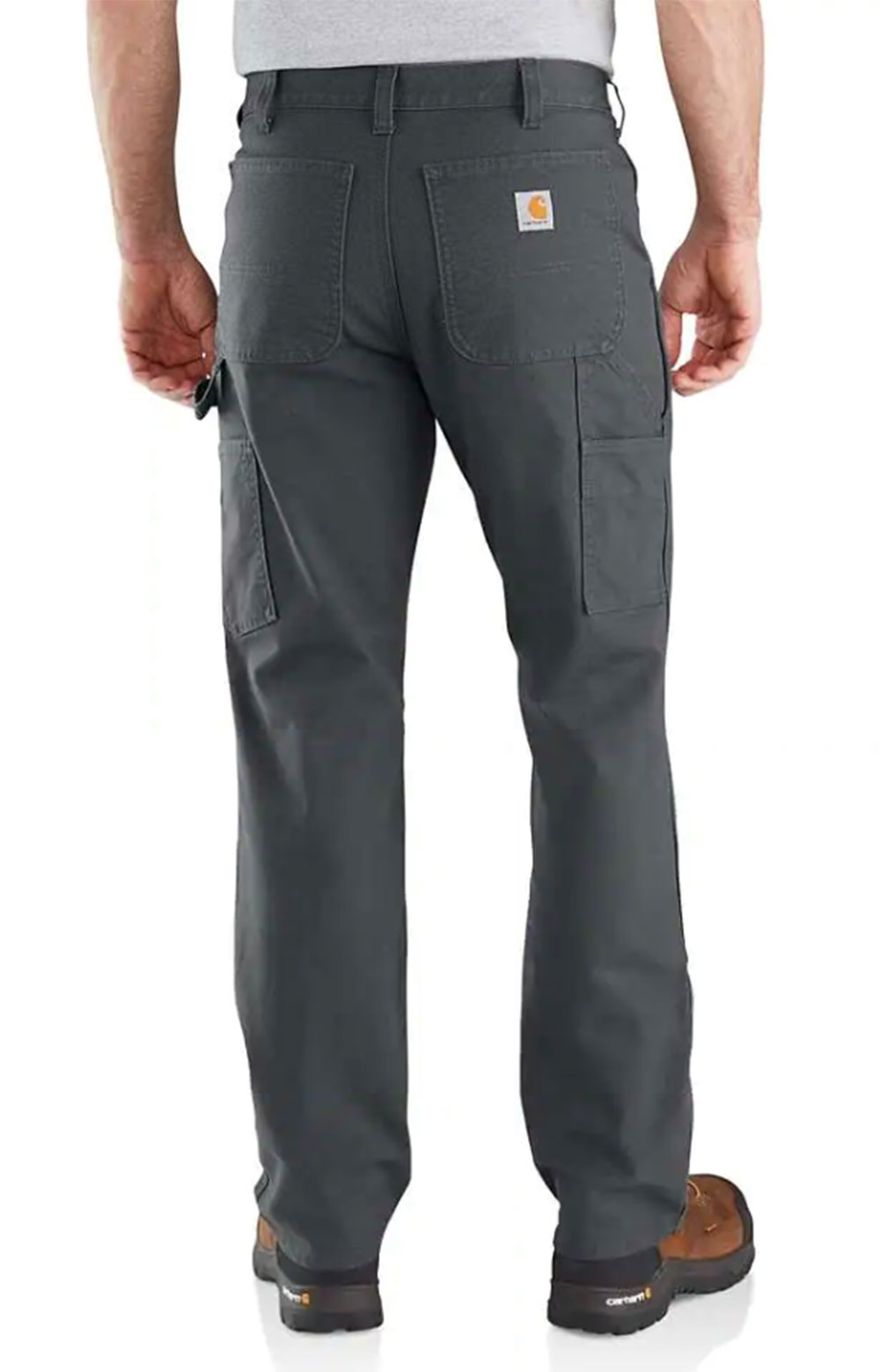 (103334) Rugged Flex Relaxed Fit Duck Double Front Pant - Shadow 2