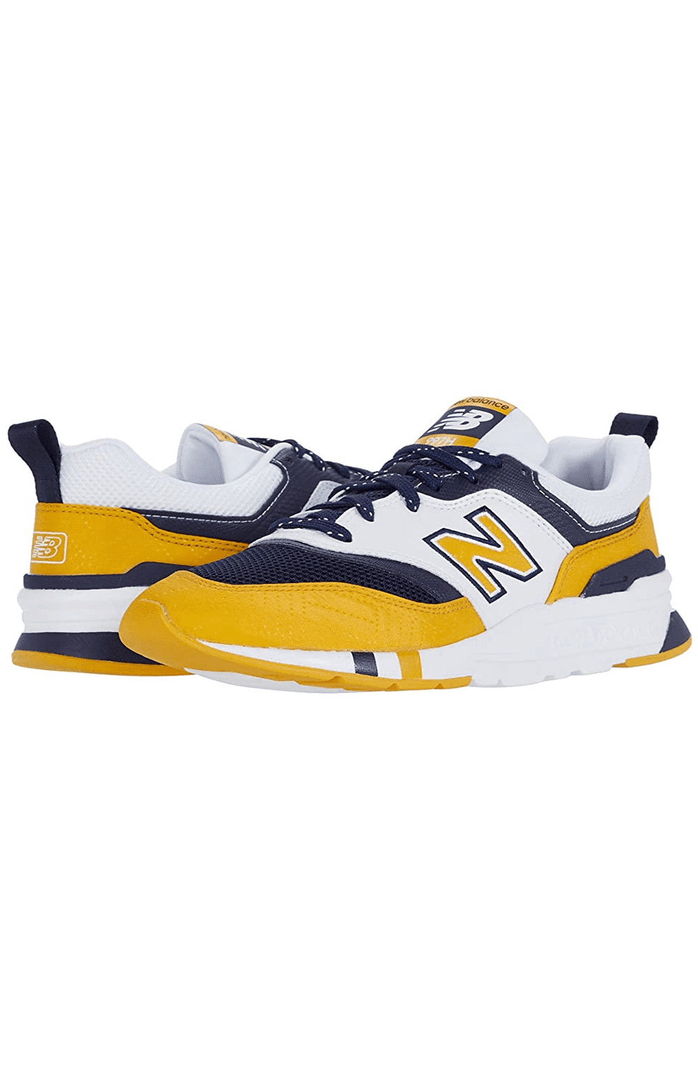 (CM997HBY) 997H Shoes - Yellow/Navy 7