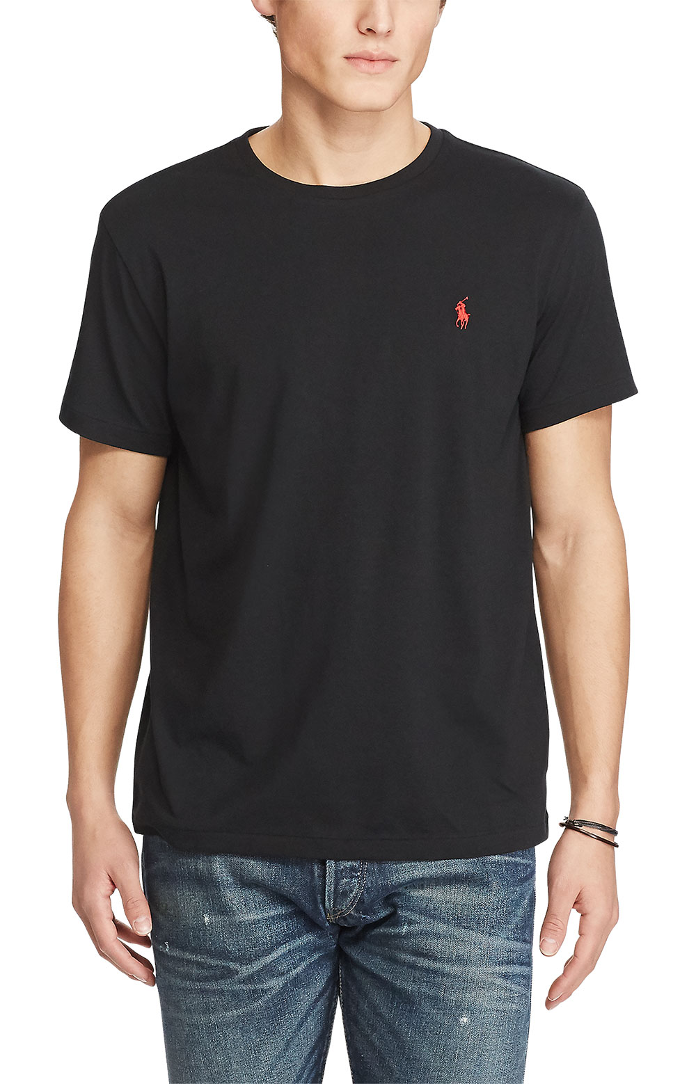 Active Fit Cotton T-Shirt - Black