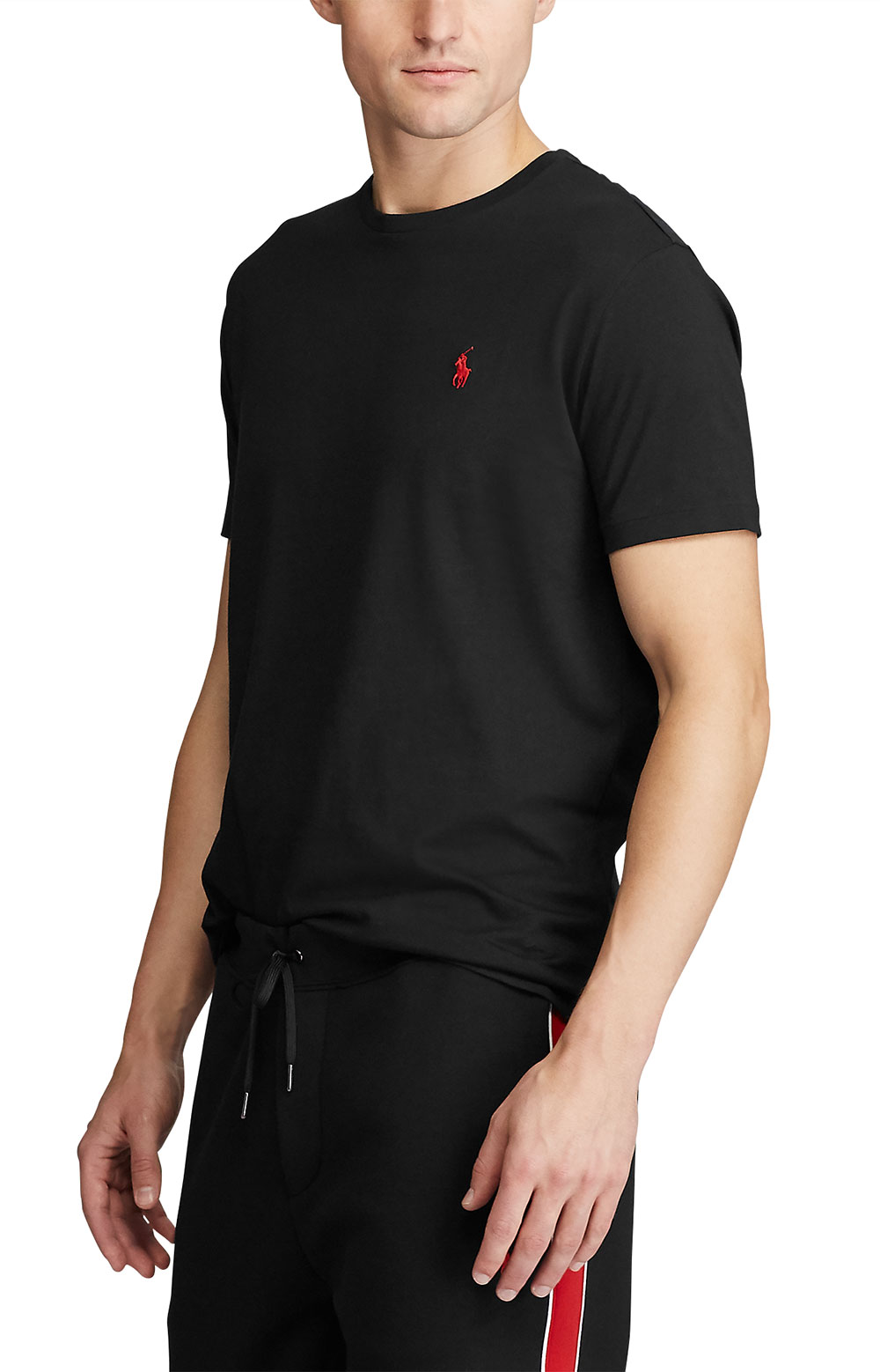 Active Fit Cotton T-Shirt - Black 3