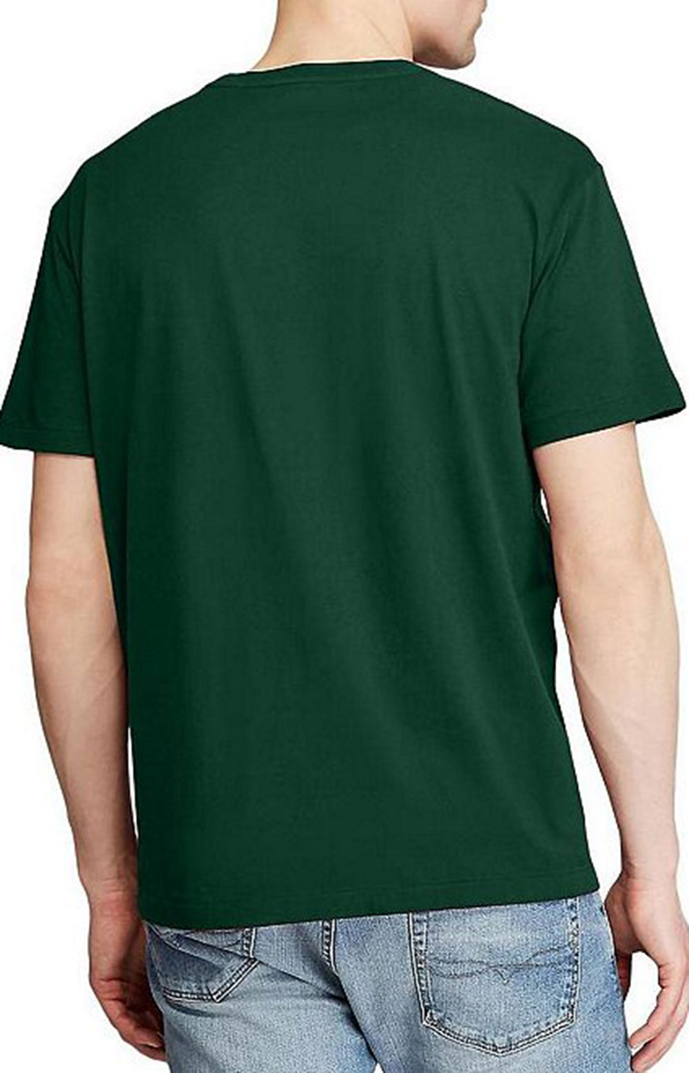Classic Fit Cotton T-Shirt - College Green  2