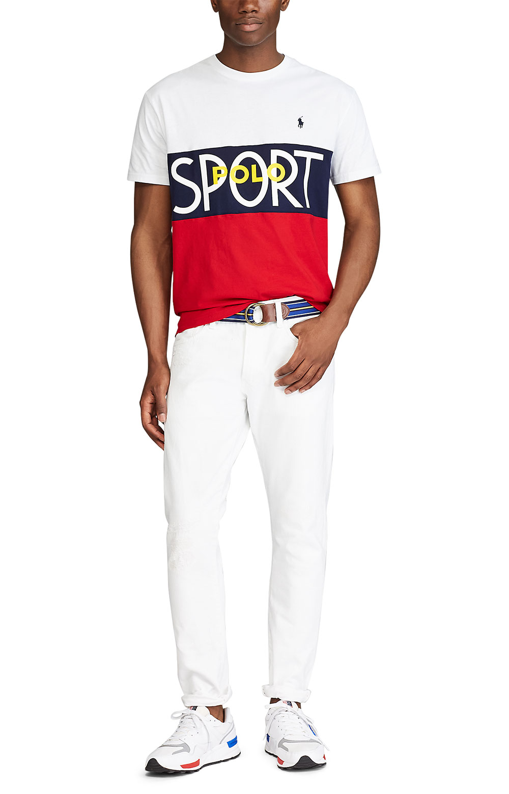 Classic Fit Polo Sport T-Shirt - White 2