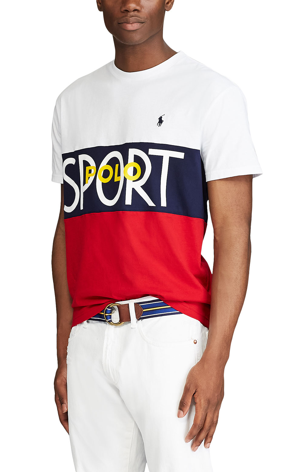 Classic Fit Polo Sport T-Shirt - White 4