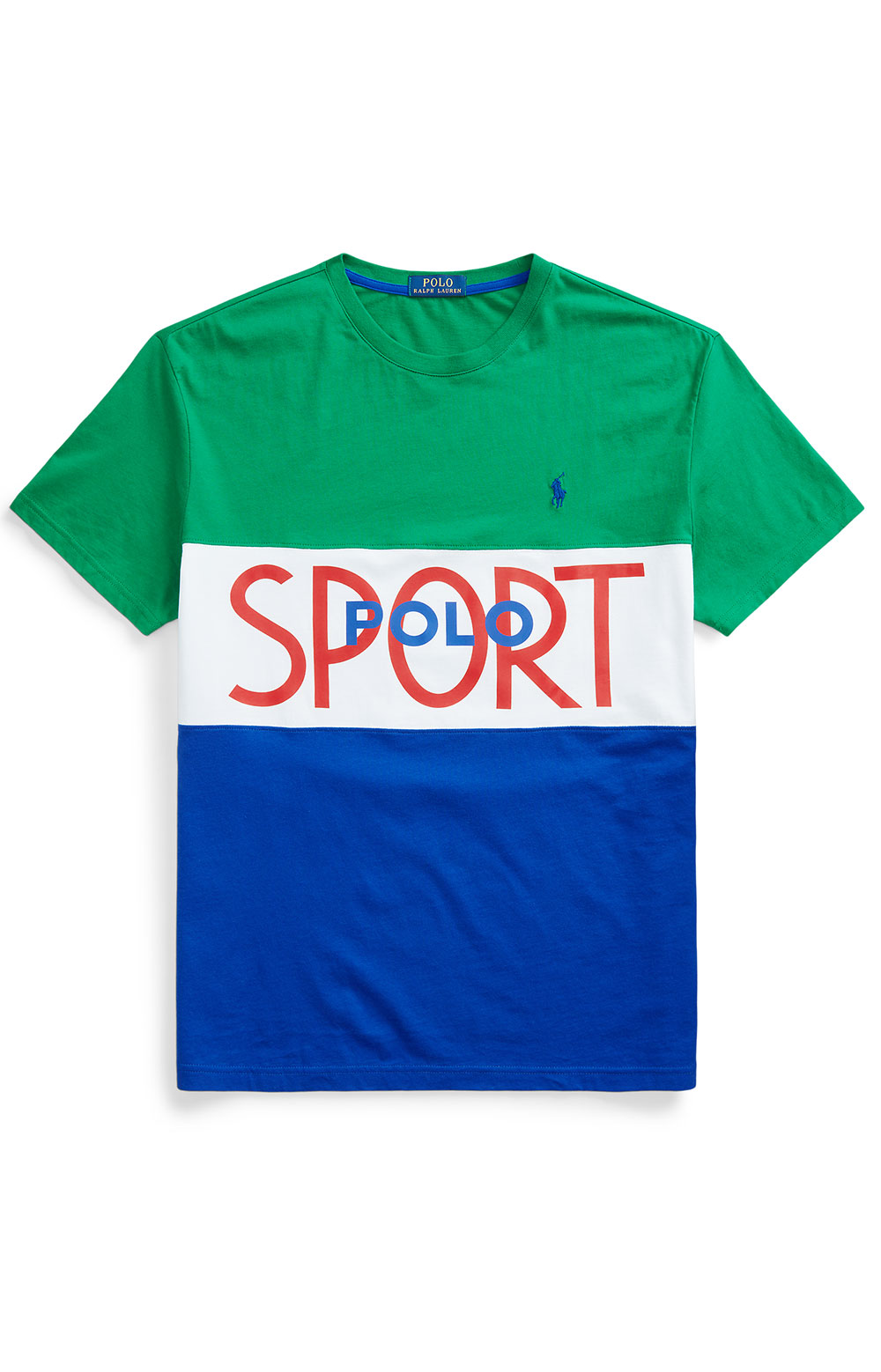Classic Fit Polo Sport T-Shirt - Kayak Green  5