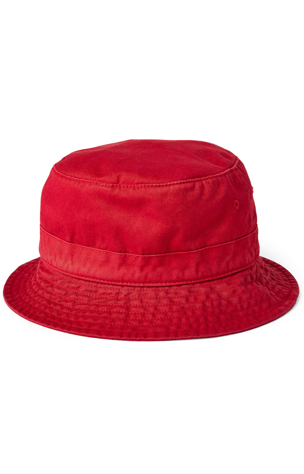 Polo Bear Chino Bucket Hat - Red 2