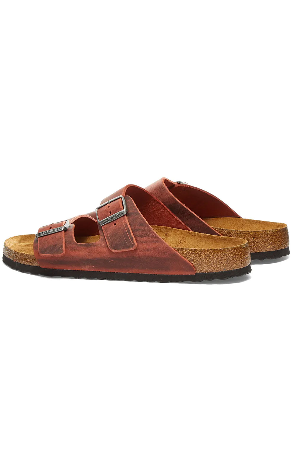 (1015544) Arizona Soft Footbed Sandals - Red Oil  4