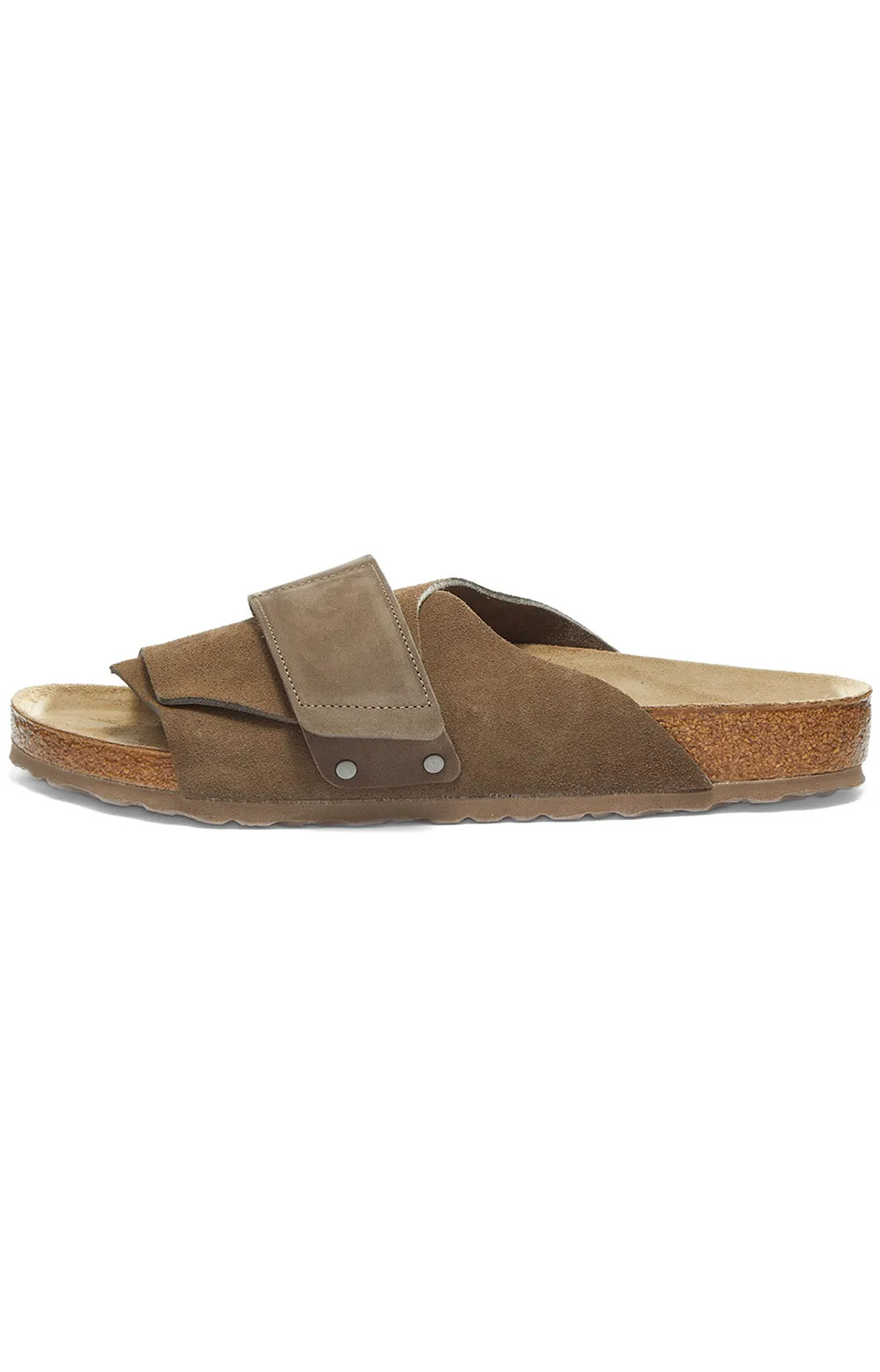 (1017501) Kyoto Sandals - Concrete Grey Suede  3