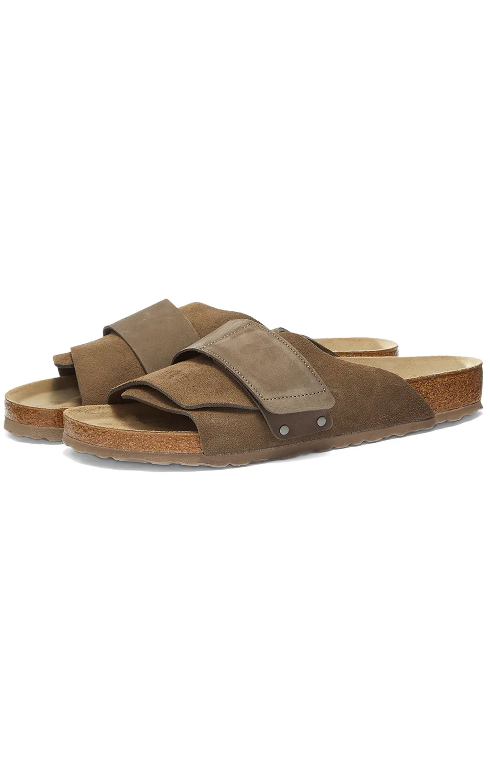 (1017501) Kyoto Sandals - Concrete Grey Suede