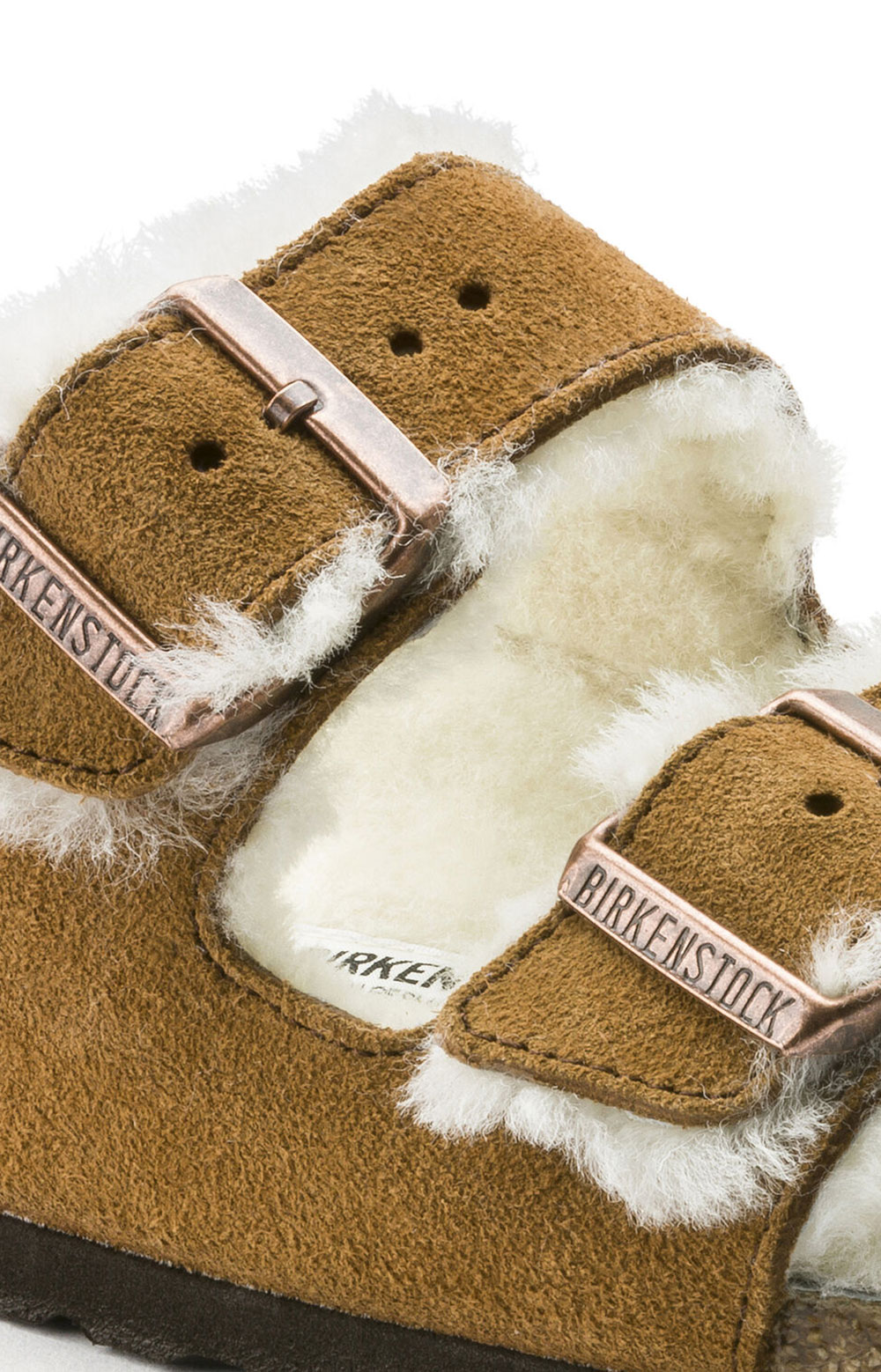 (1001128) Arizona Shearling Sandals - Mink 3