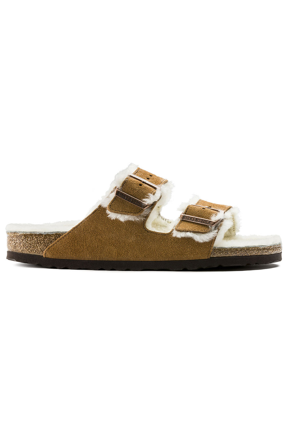 (1001128) Arizona Shearling Sandals - Mink 4