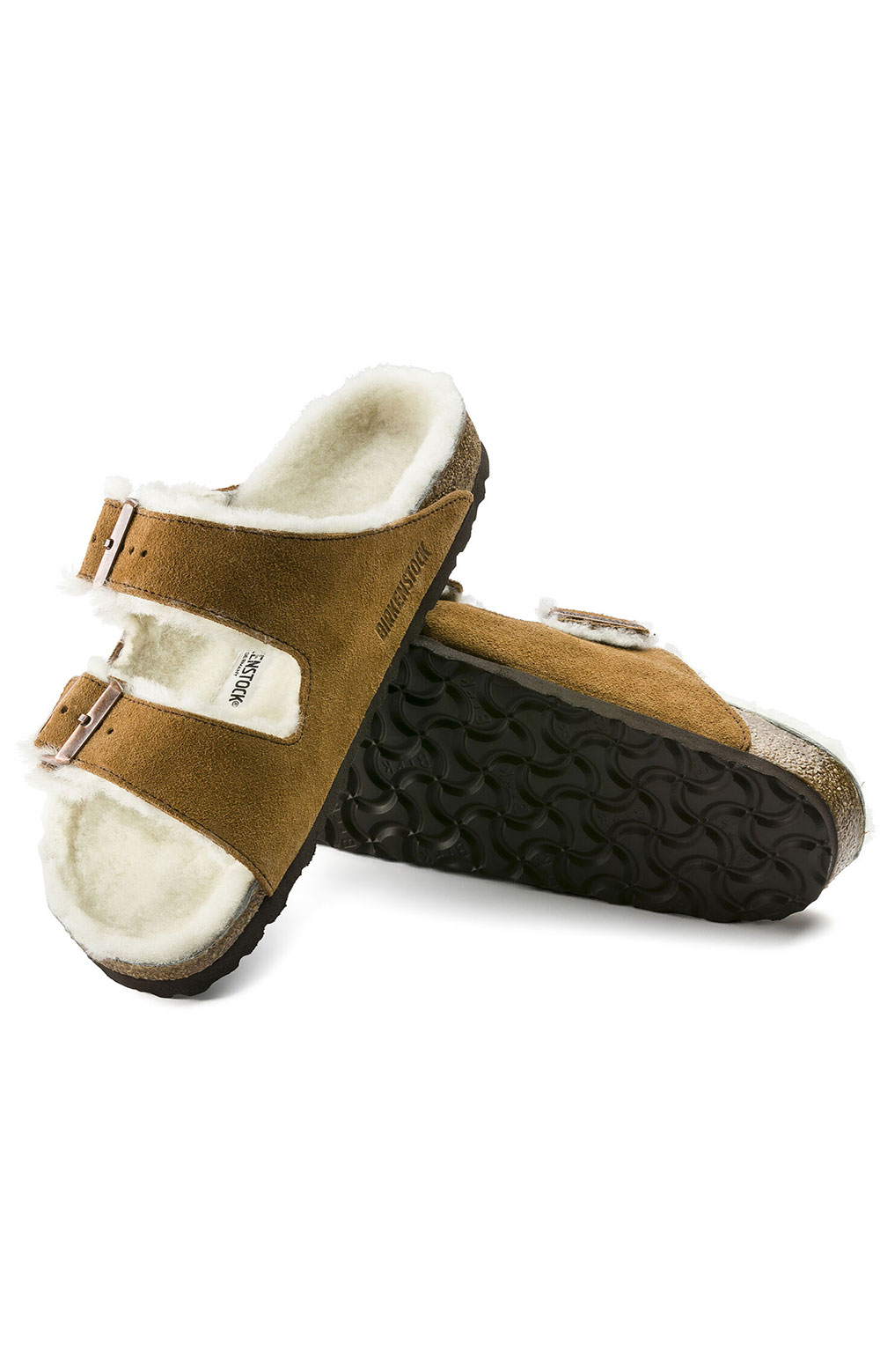 (1001128) Arizona Shearling Sandals - Mink 5