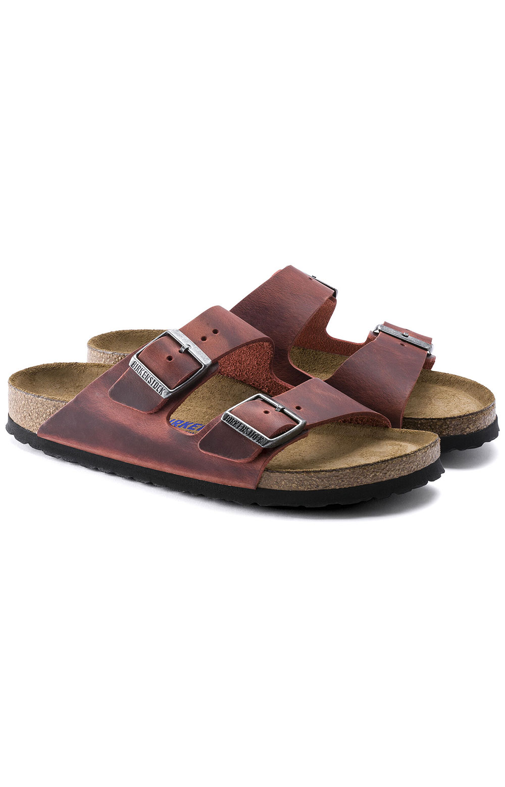 (1015545) Arizona Soft Footbed Sandals - Earth Red