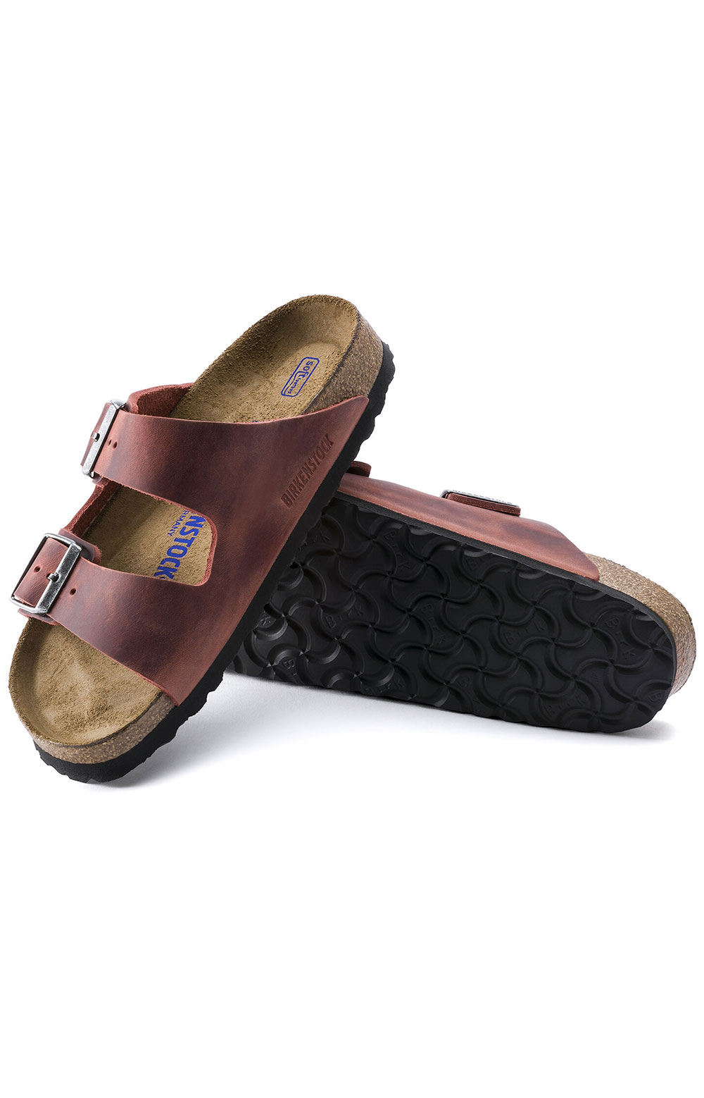 (1015545) Arizona Soft Footbed Sandals - Earth Red 5