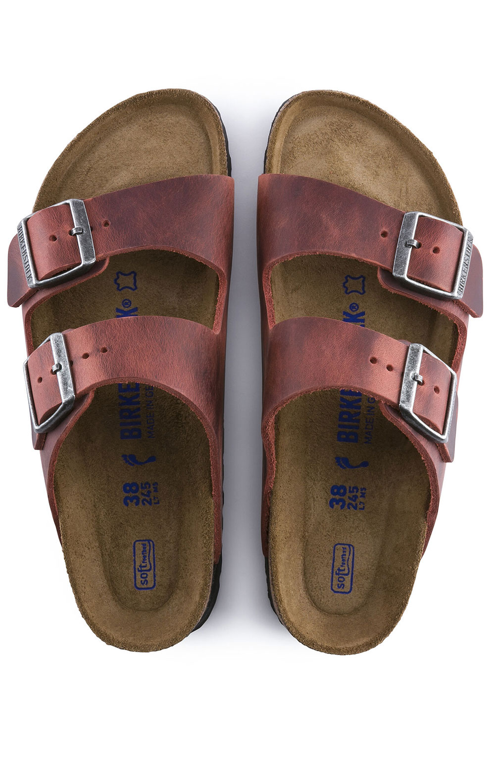 (1015545) Arizona Soft Footbed Sandals - Earth Red 6