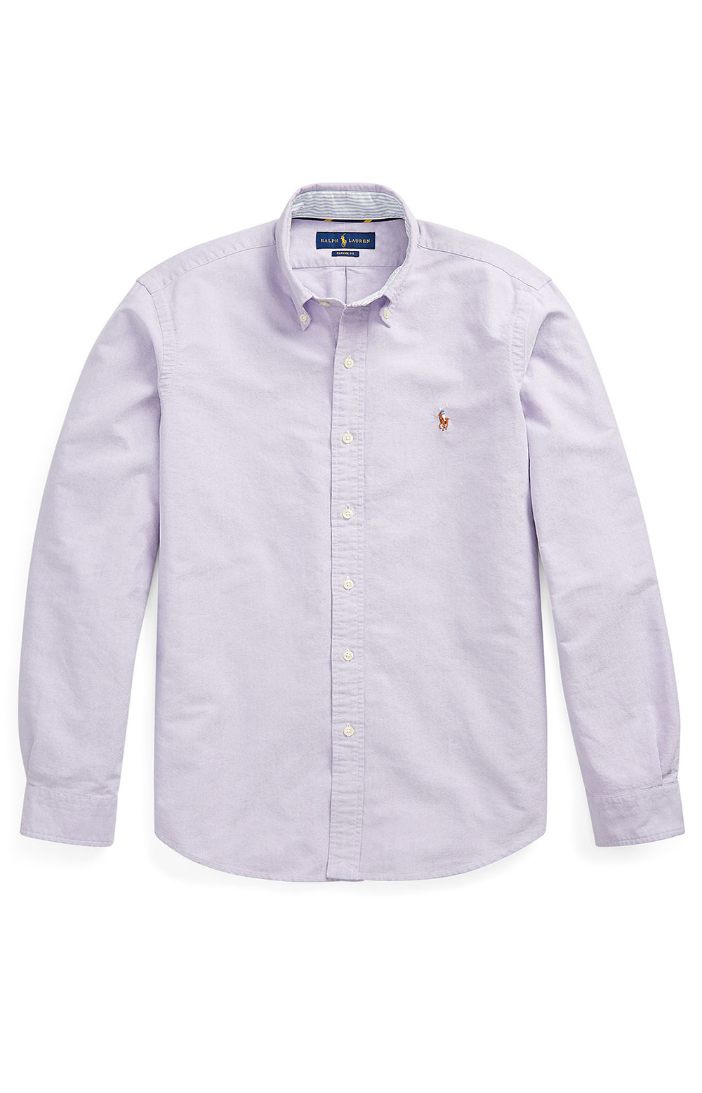 Classic Fit Oxford Shirt - Thistle  2
