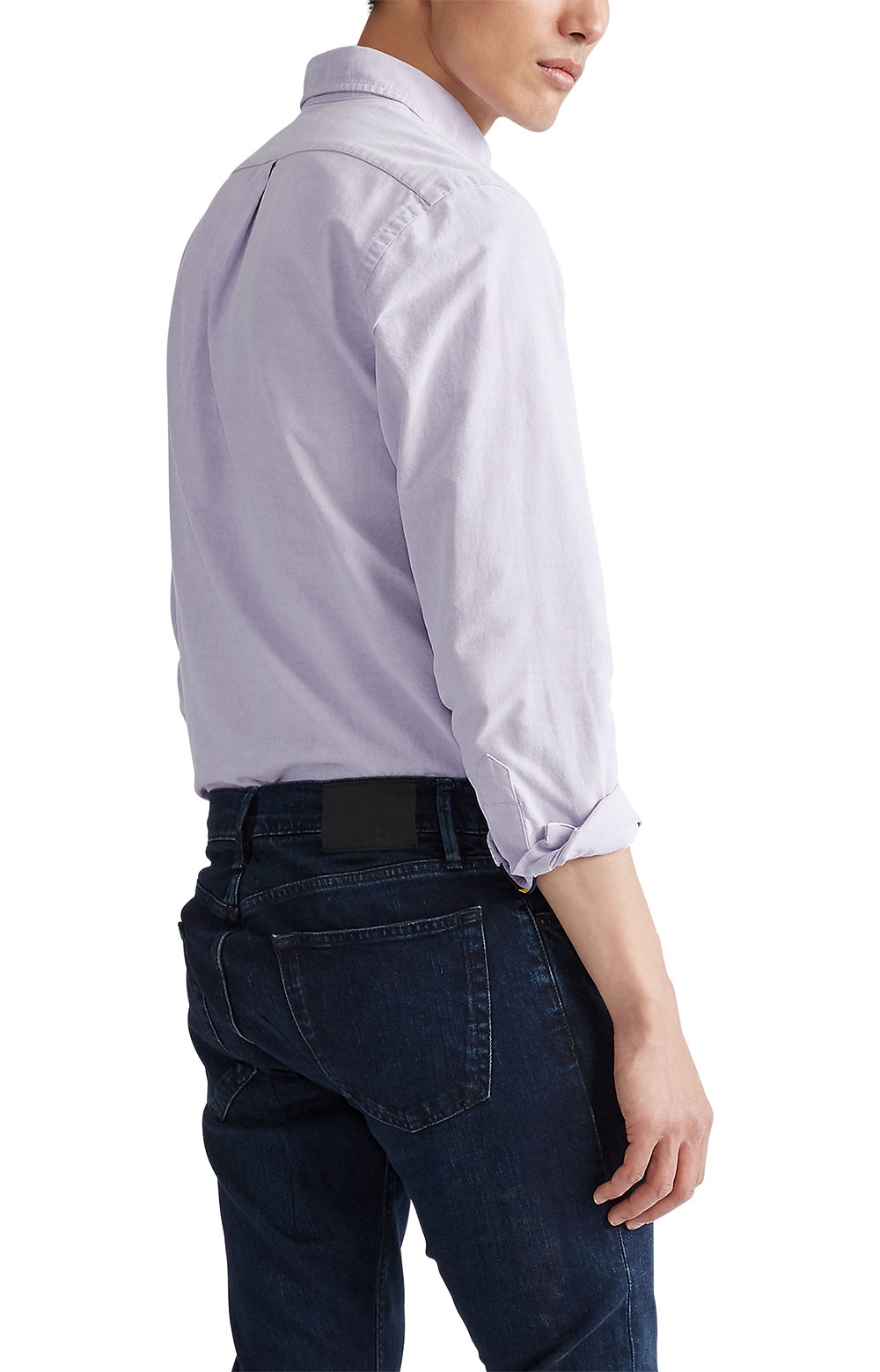 Classic Fit Oxford Shirt - Thistle  3