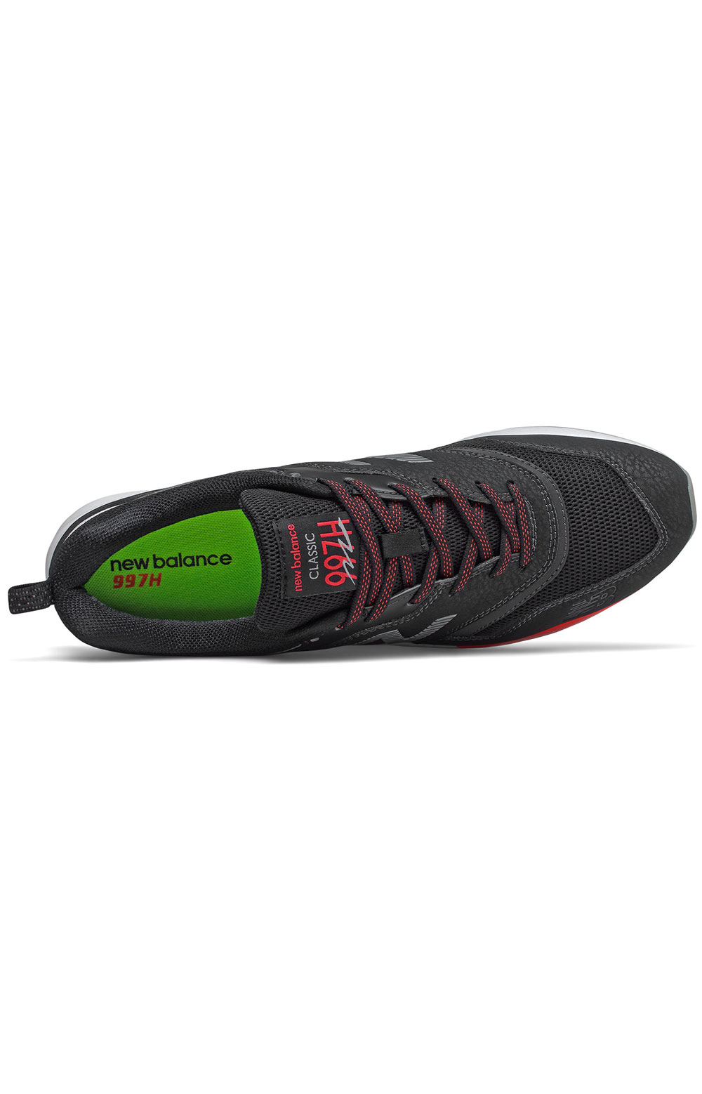 (CM997HFQ) 997H Shoes - Black/Energy Red/White  3