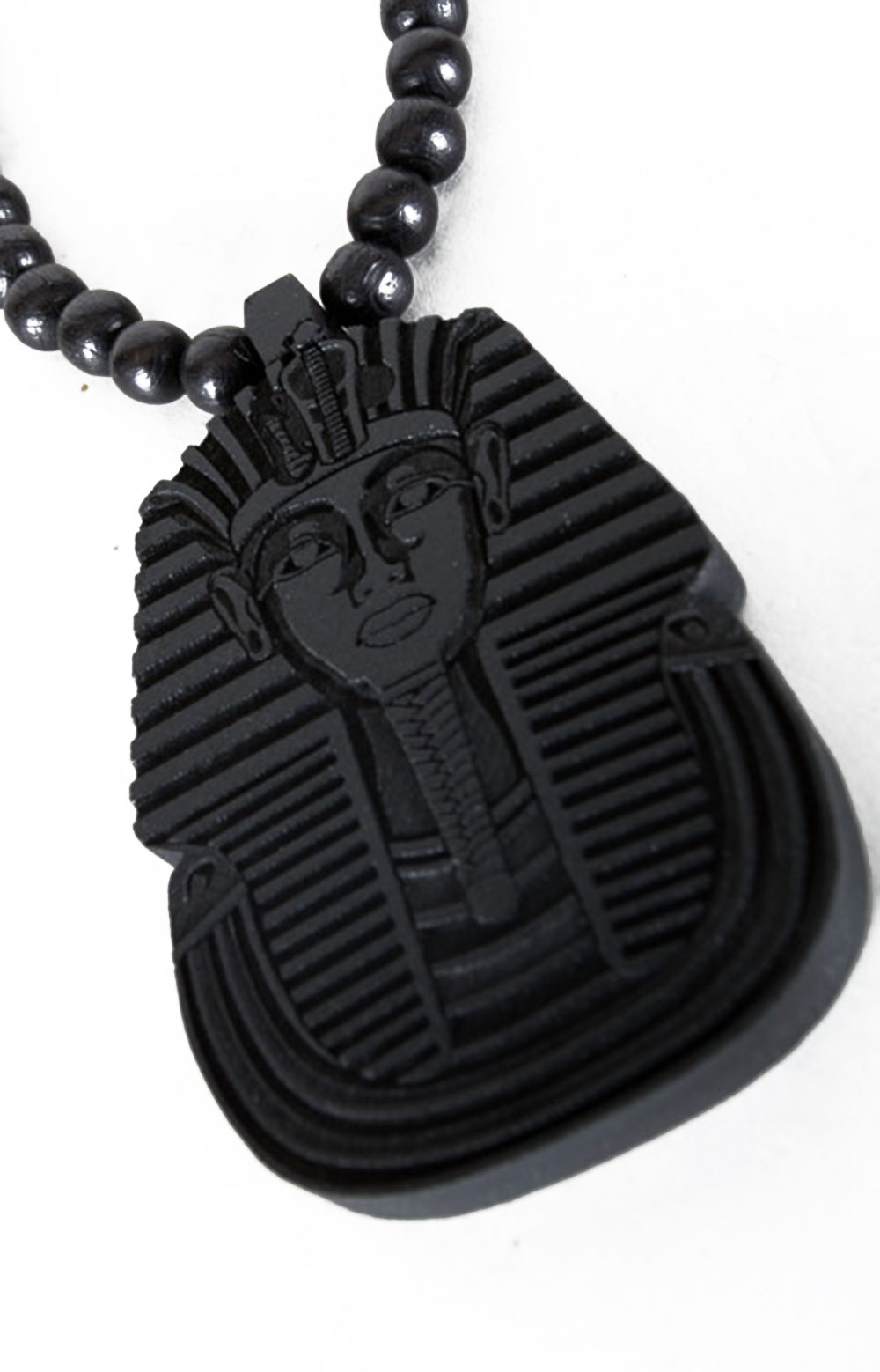 Pharoah Beaded Necklace - Black 2