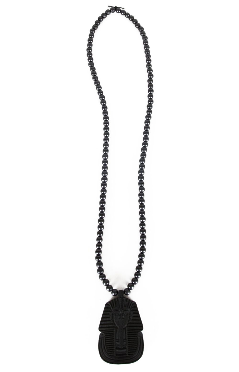 Pharoah Beaded Necklace - Black 4