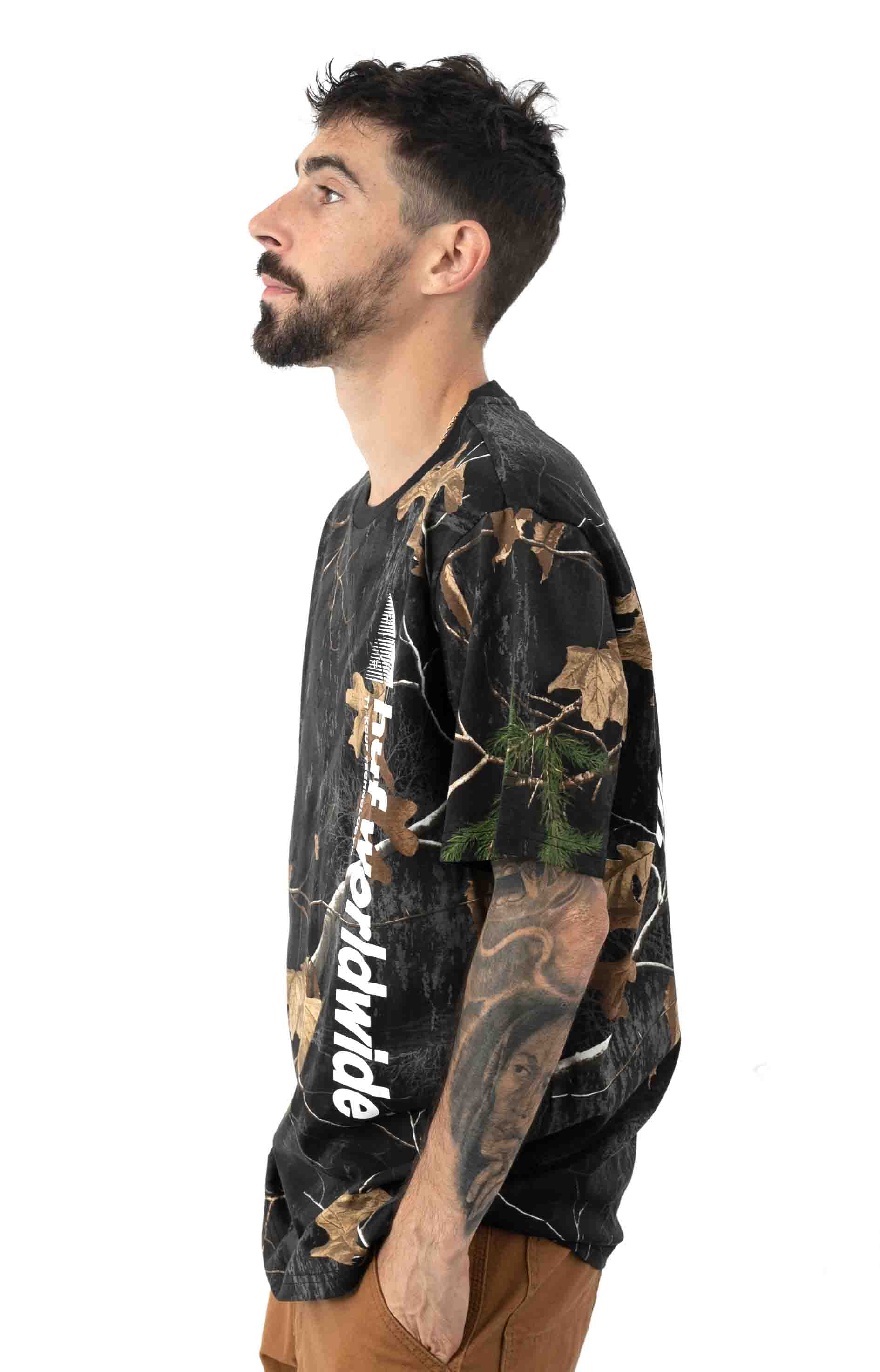 Realtree Peak Logo T-Shirt - Black 2