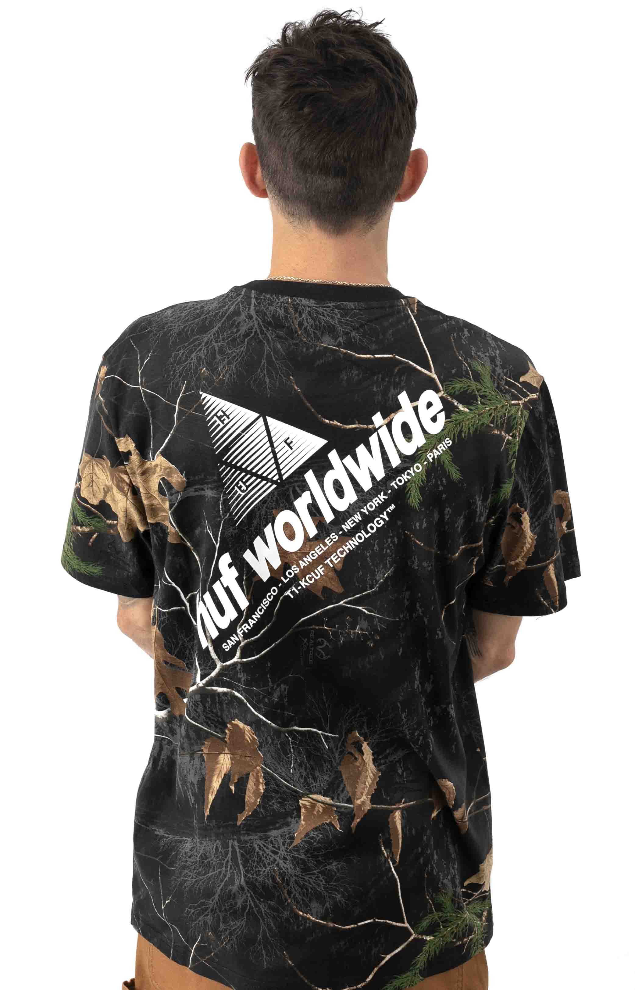 Realtree Peak Logo T-Shirt - Black 3