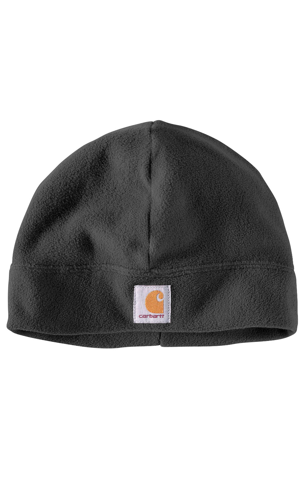 (A207) Fleece Hat - Black