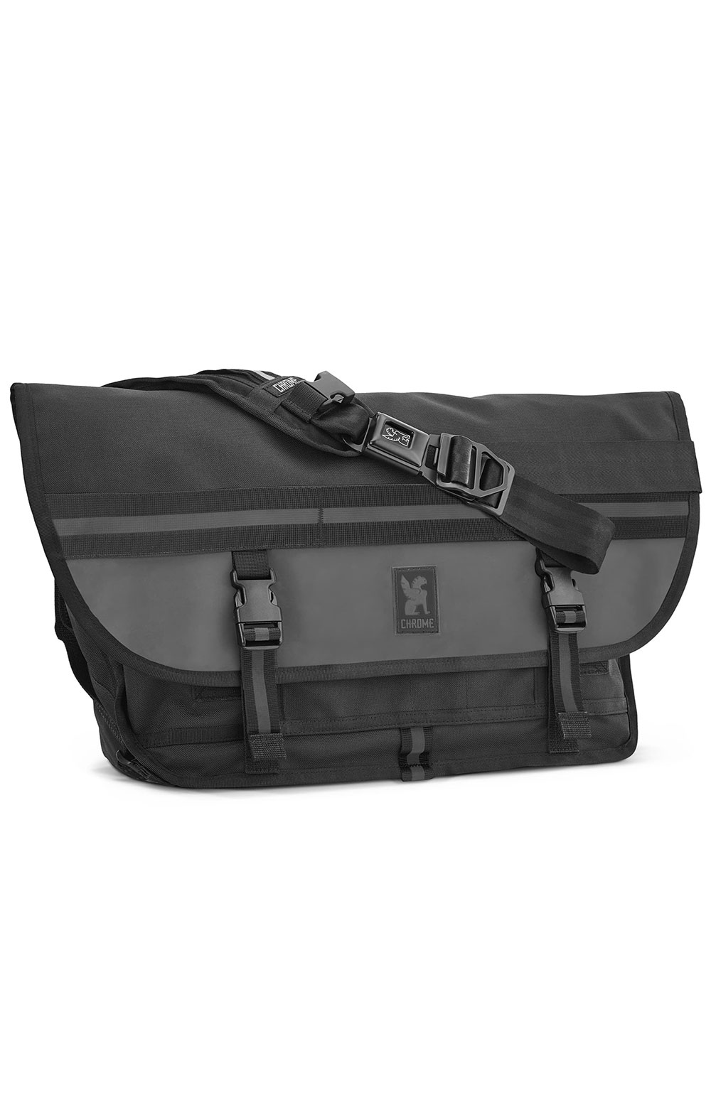 (BG-002-NI) Citizen Messenger Bag - Night