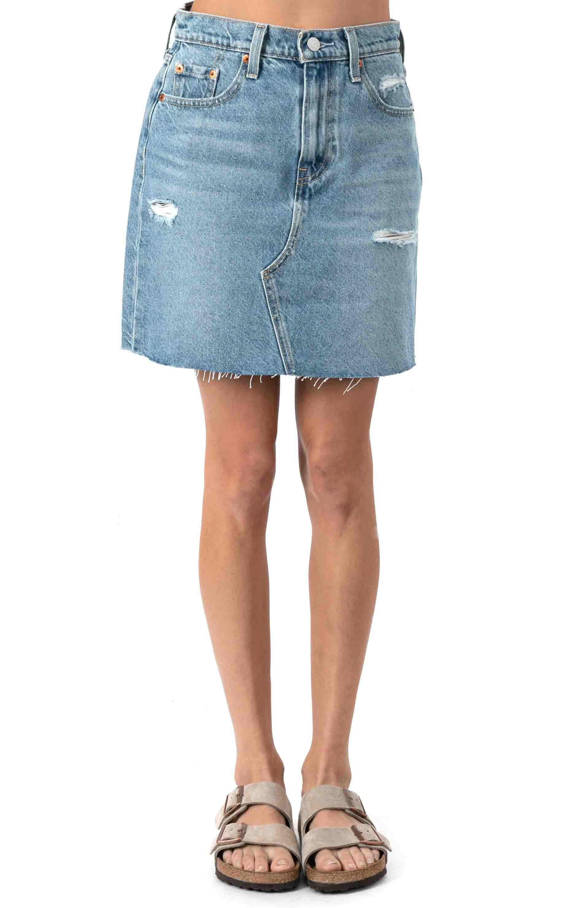 High Rise Decon Iconic Skirt - Rack And Ruin