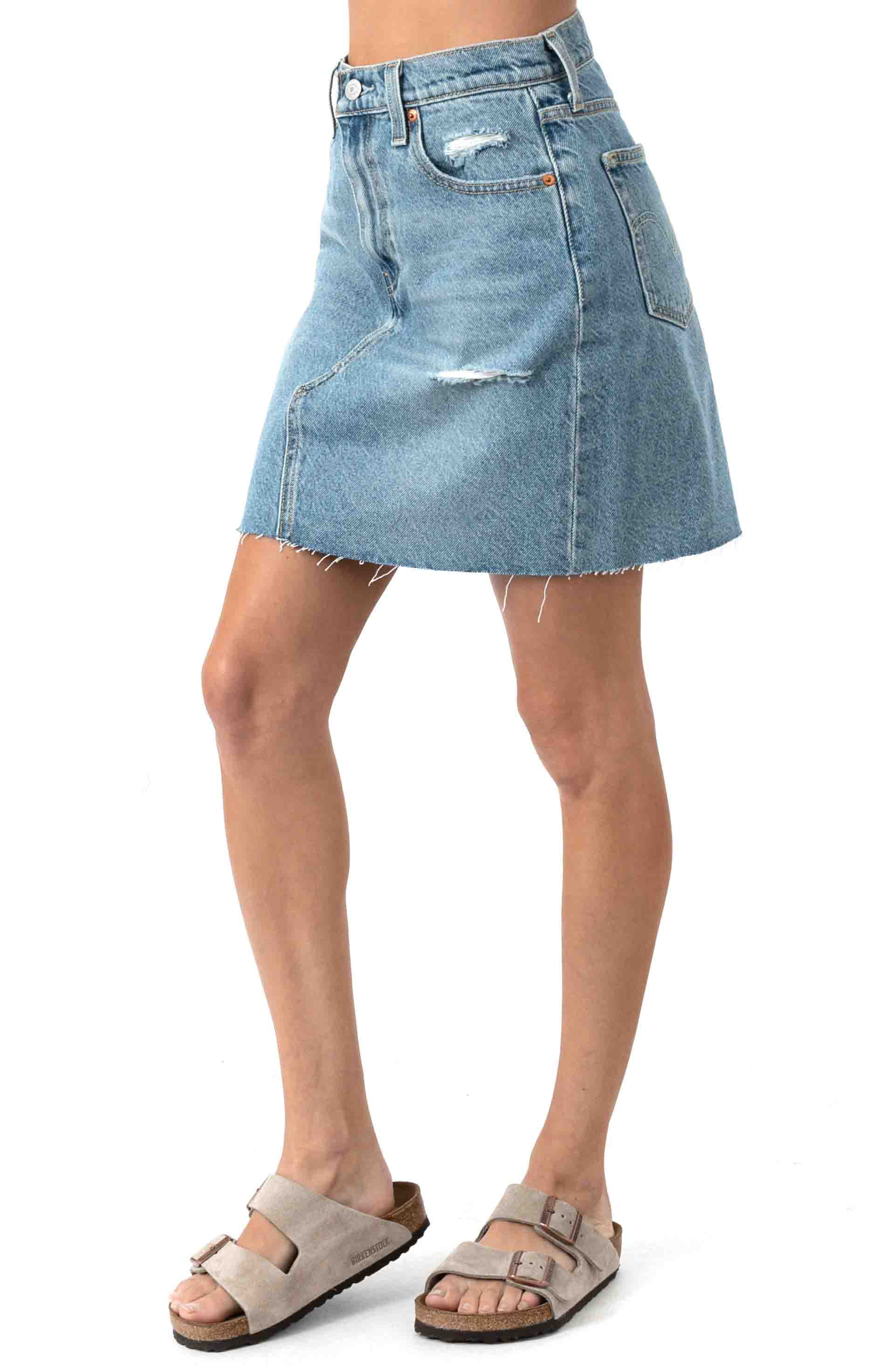 High Rise Decon Iconic Skirt - Rack And Ruin 2